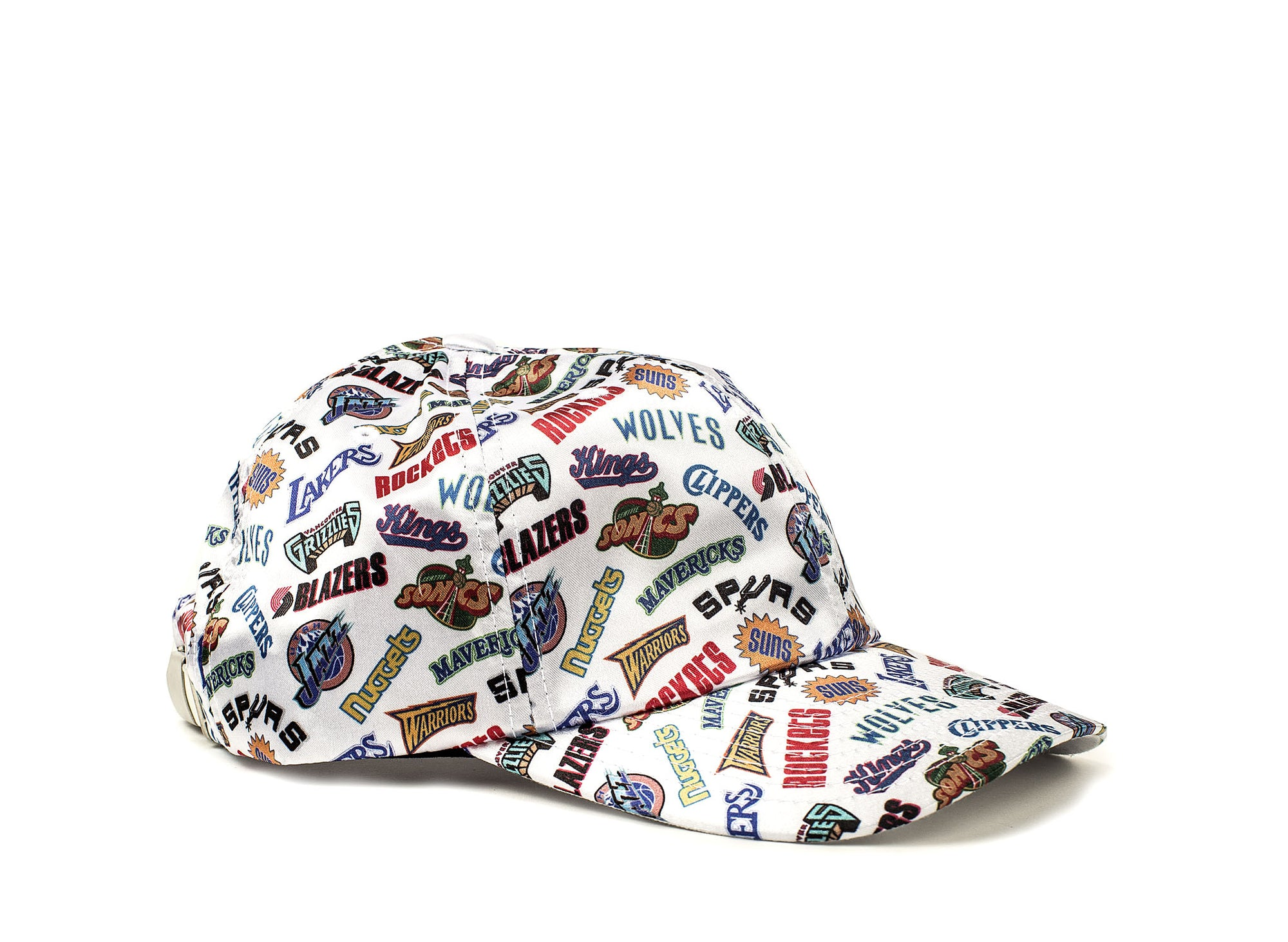 913261751b4474 MITCHELL & NESS ALL OVER DAD CAP STRAPBACK - Oneness Boutique