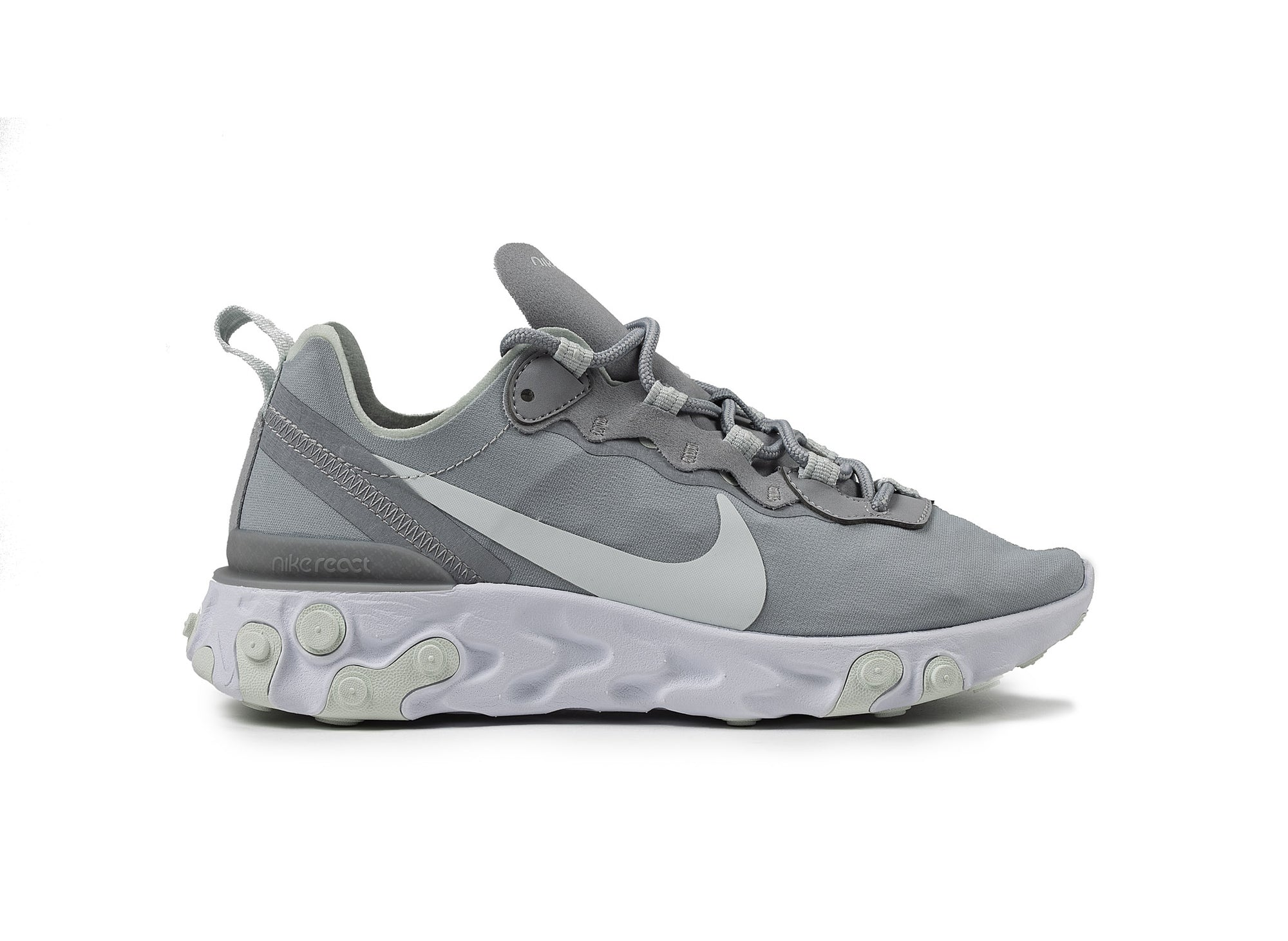 NIKE WOMEN'S REACT ELEMENT 55 'Wolf Grey'