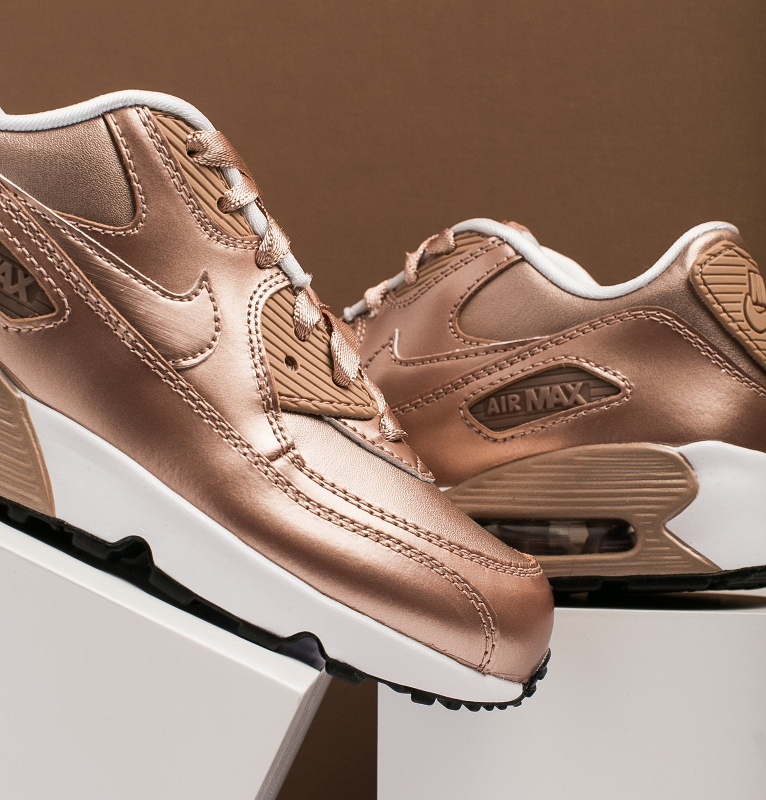 uk nike air max 90 rose gold womens tennis e3618 b8430 75ba64ded