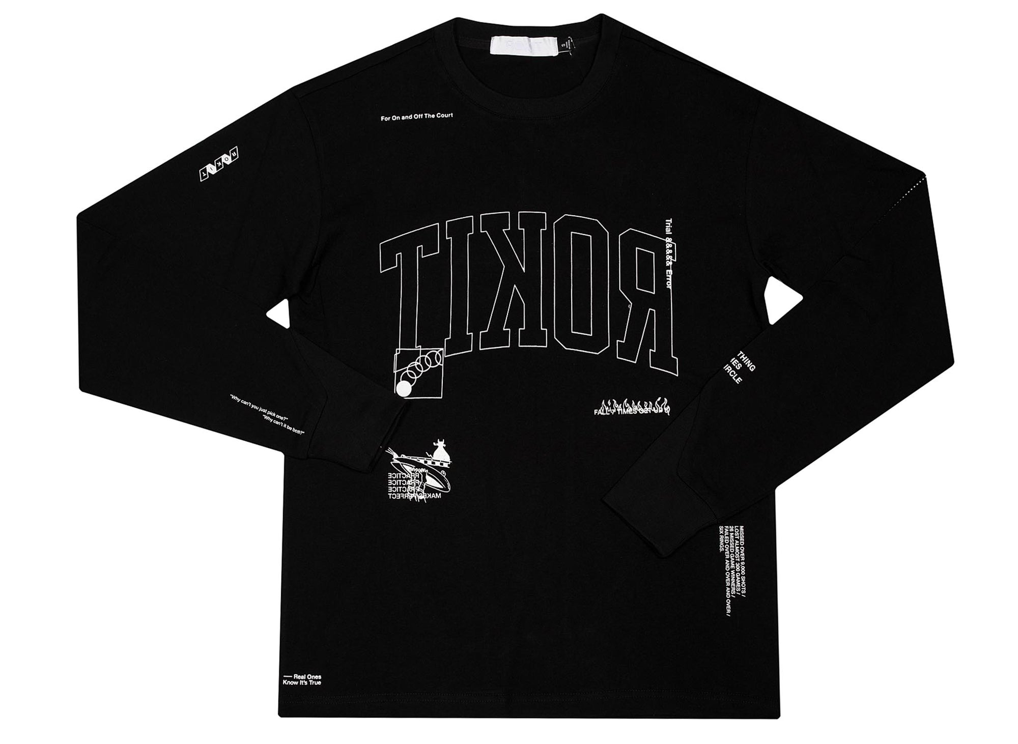 ROKIT jersey long sleeve tee