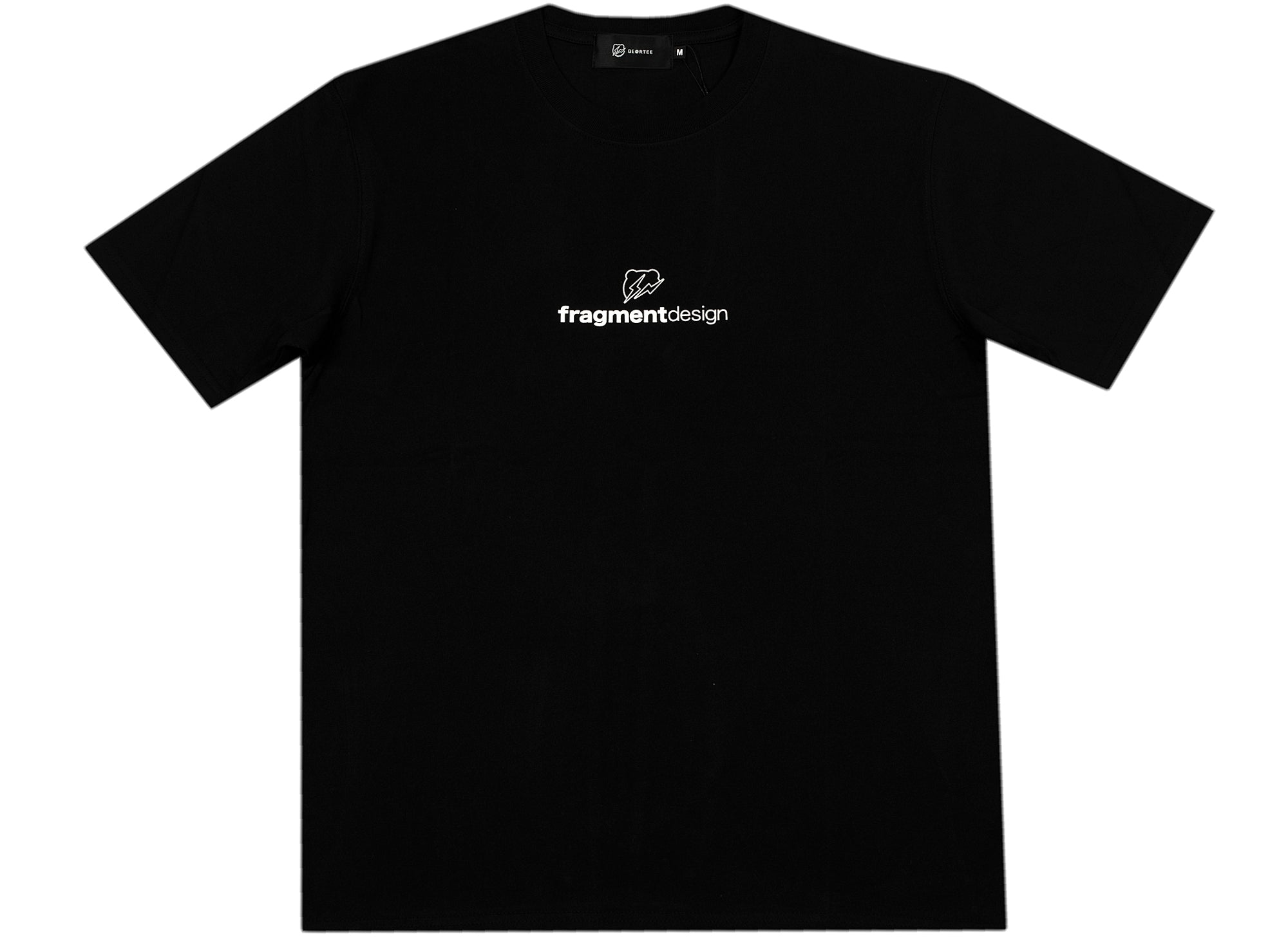 Medicom Toy Be@rtree x fragmentdesign Logo Tee in Black xld