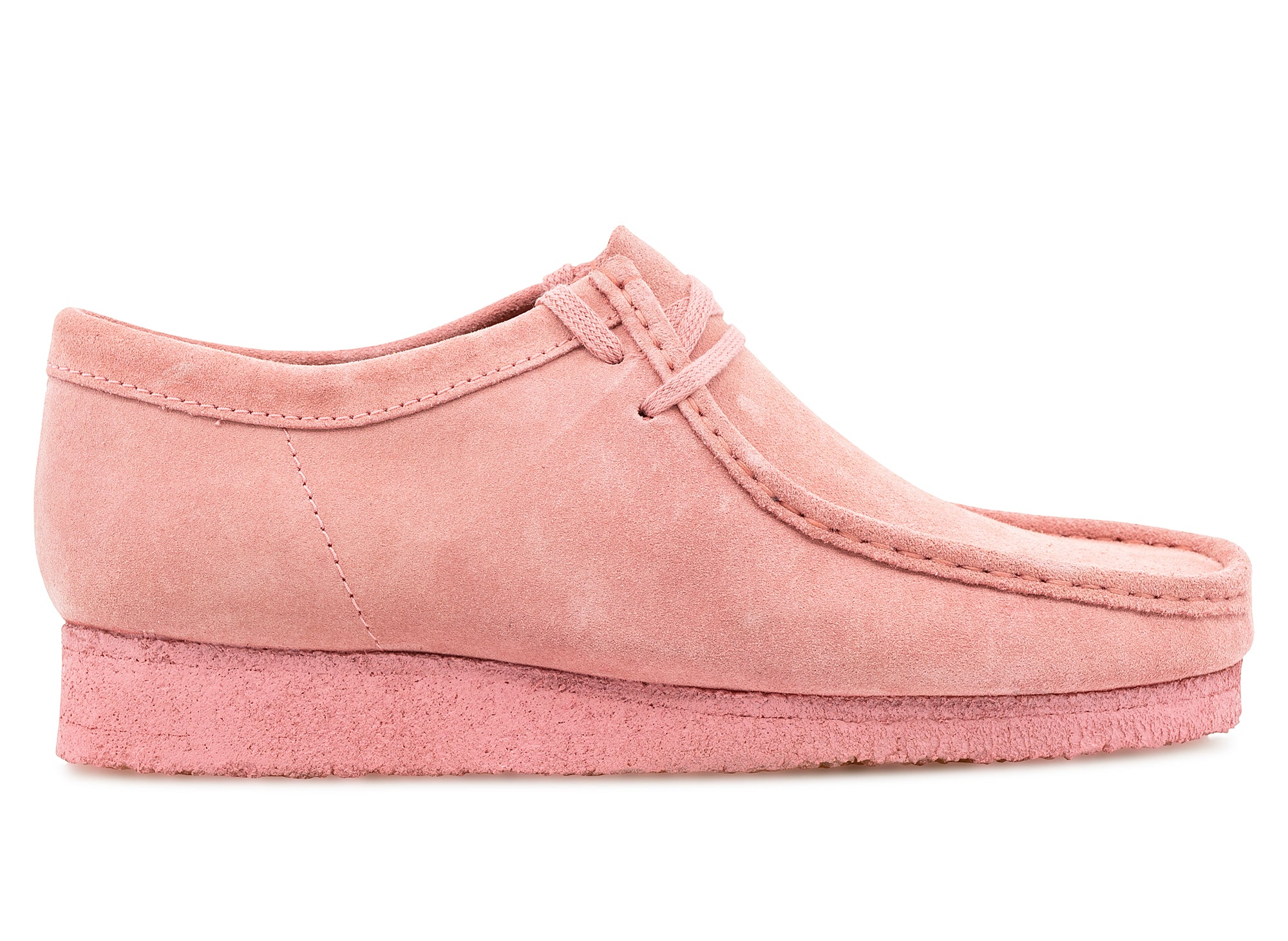Clarks Wallabee 'Bright Pink' xld