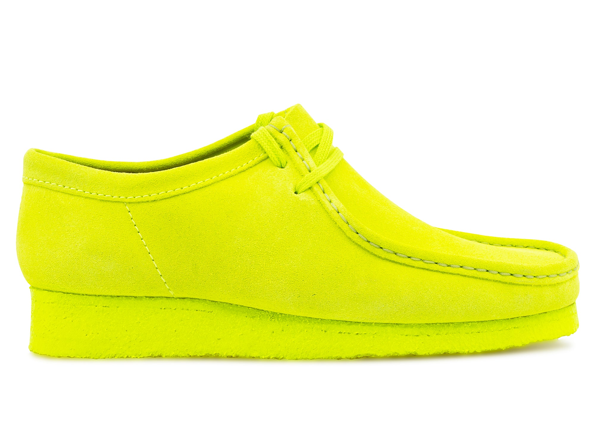 Clarks Wallabee 'Lime' xld