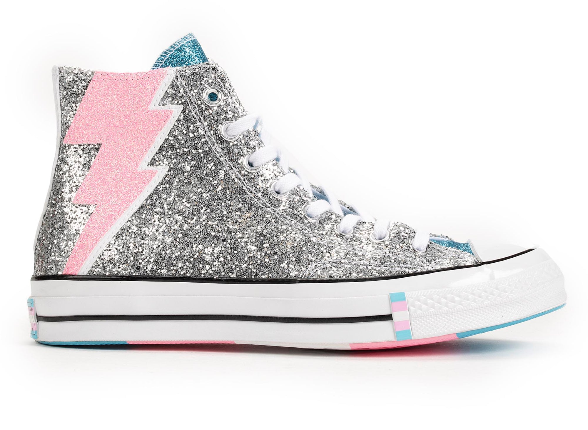 Converse Chuck 70 High '50th Anniversary of Pride' - Silver Glitter
