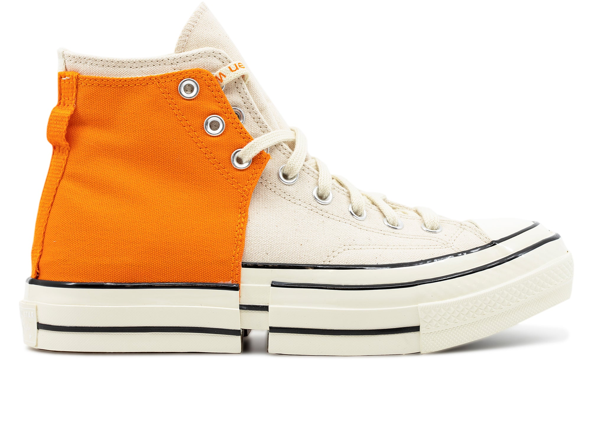 Converse x Feng Chen Wang Chuck 70 2 in 1 Hi in Orange xld