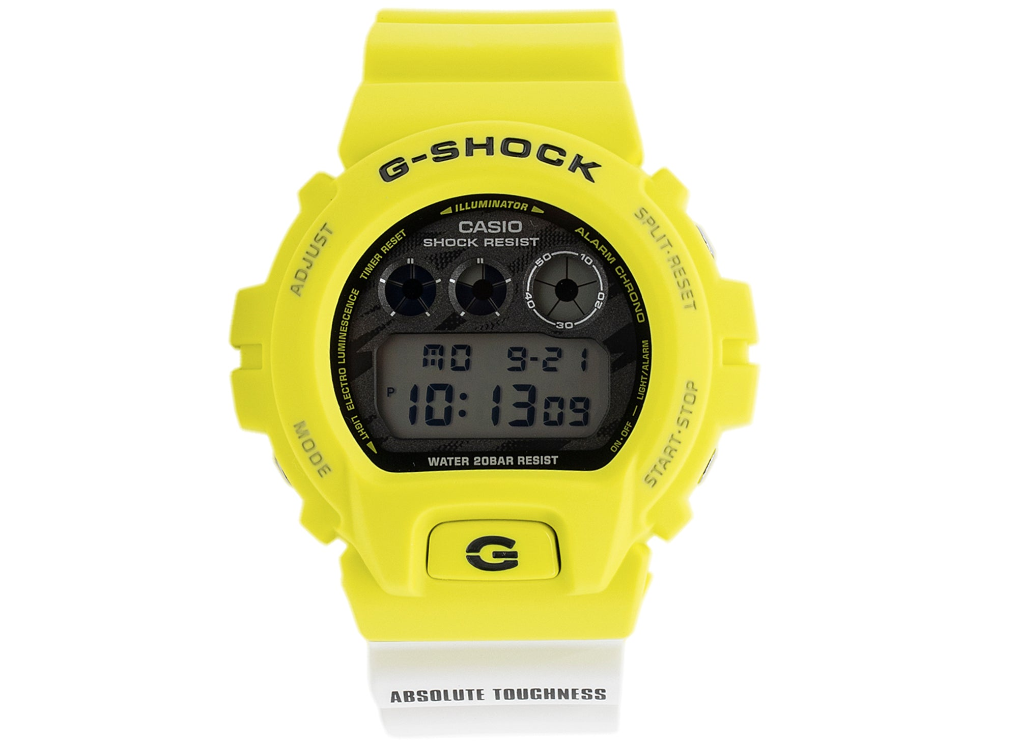 Casio G-SHOCK Digital DW6900TGA-9 Watch