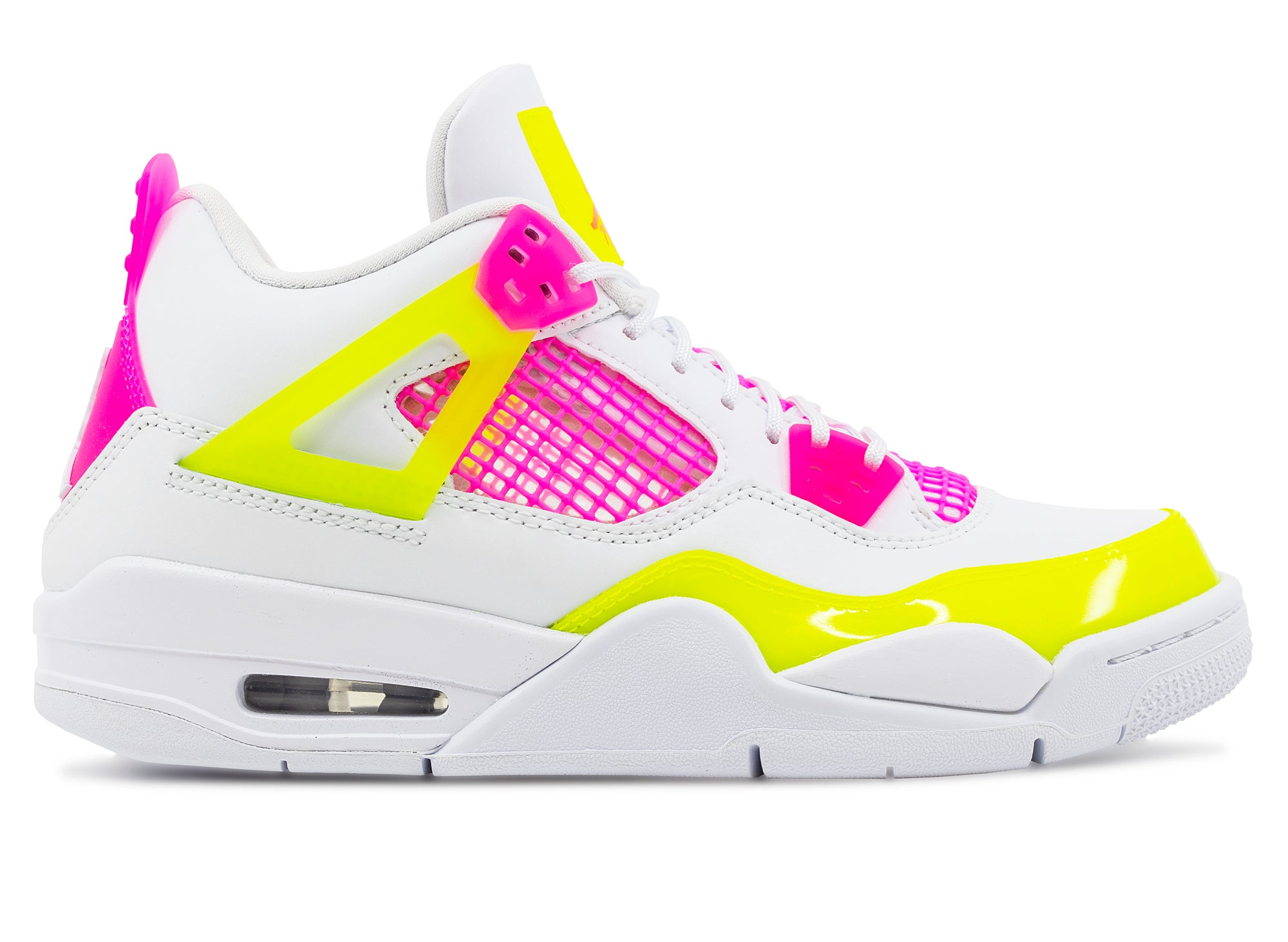 GS Air Jordan 4 Retro SE 'Lemon Venom'
