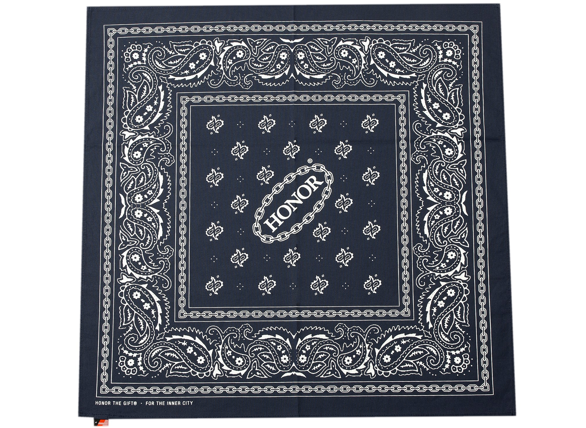 Honor the Gift Honor Shop Bandana in Navy xld