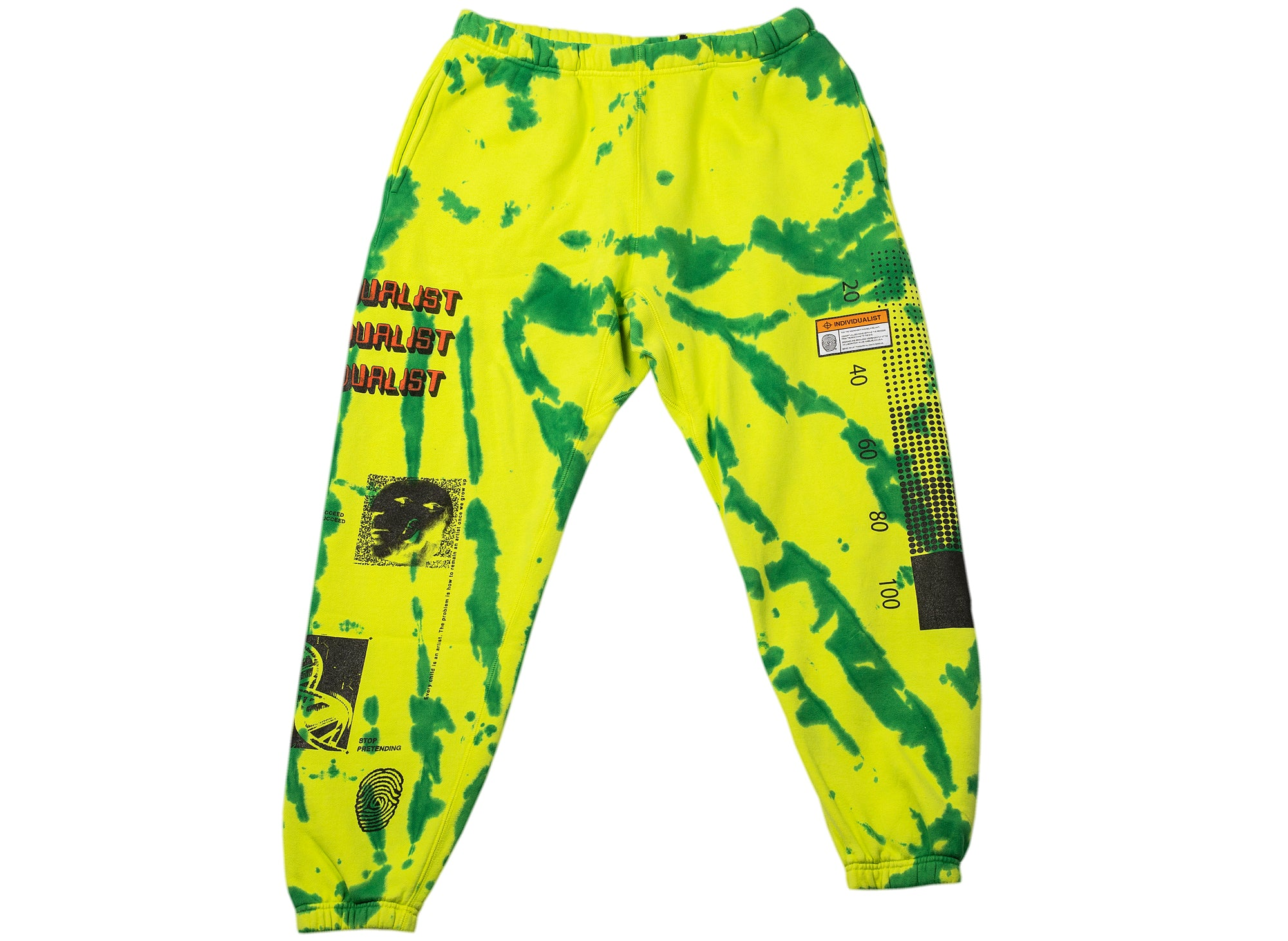 INDVLST Tie Dye Fleece Pants xld