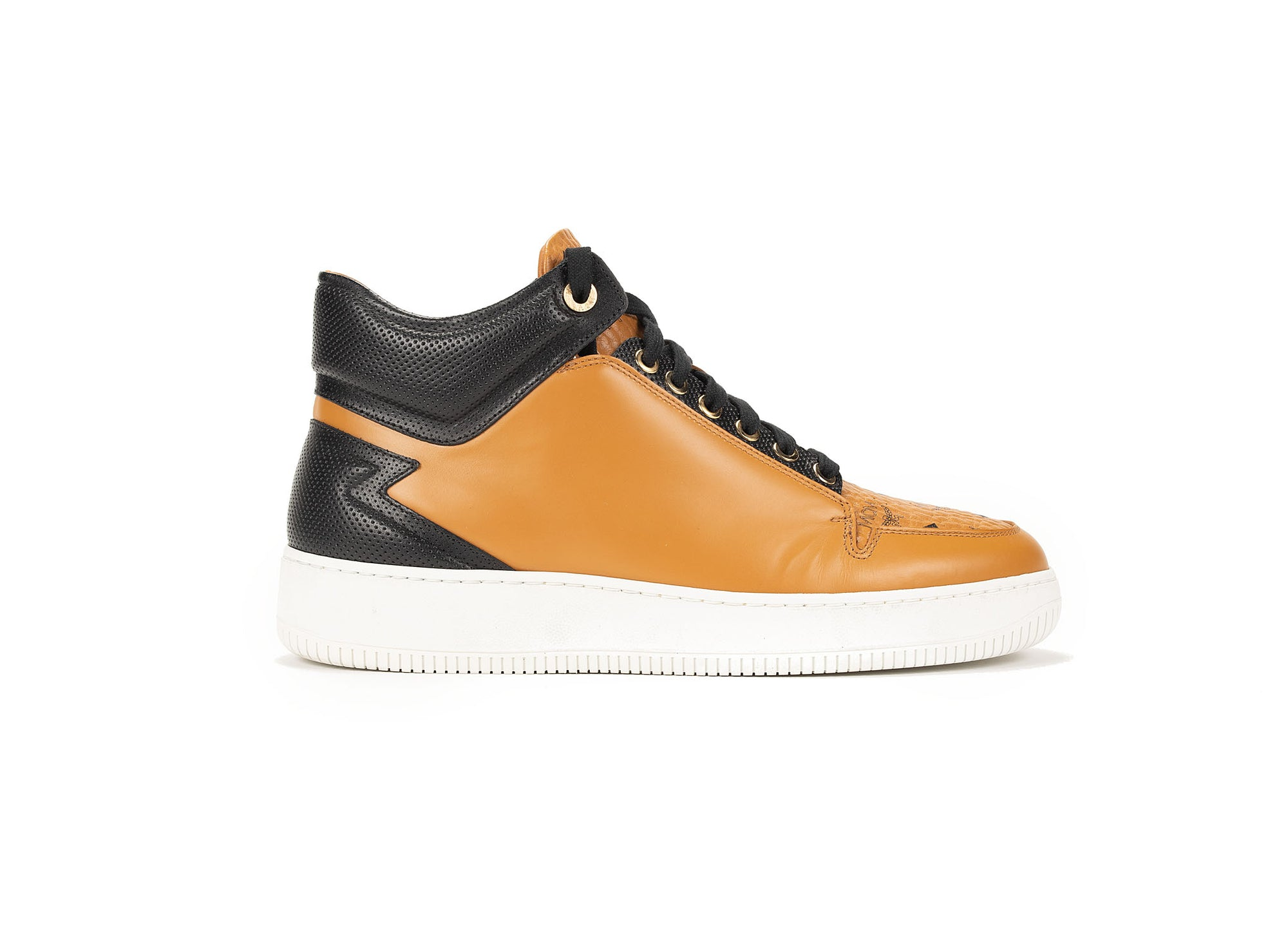 MCM - VISETOS MID TOP SNEAKERS