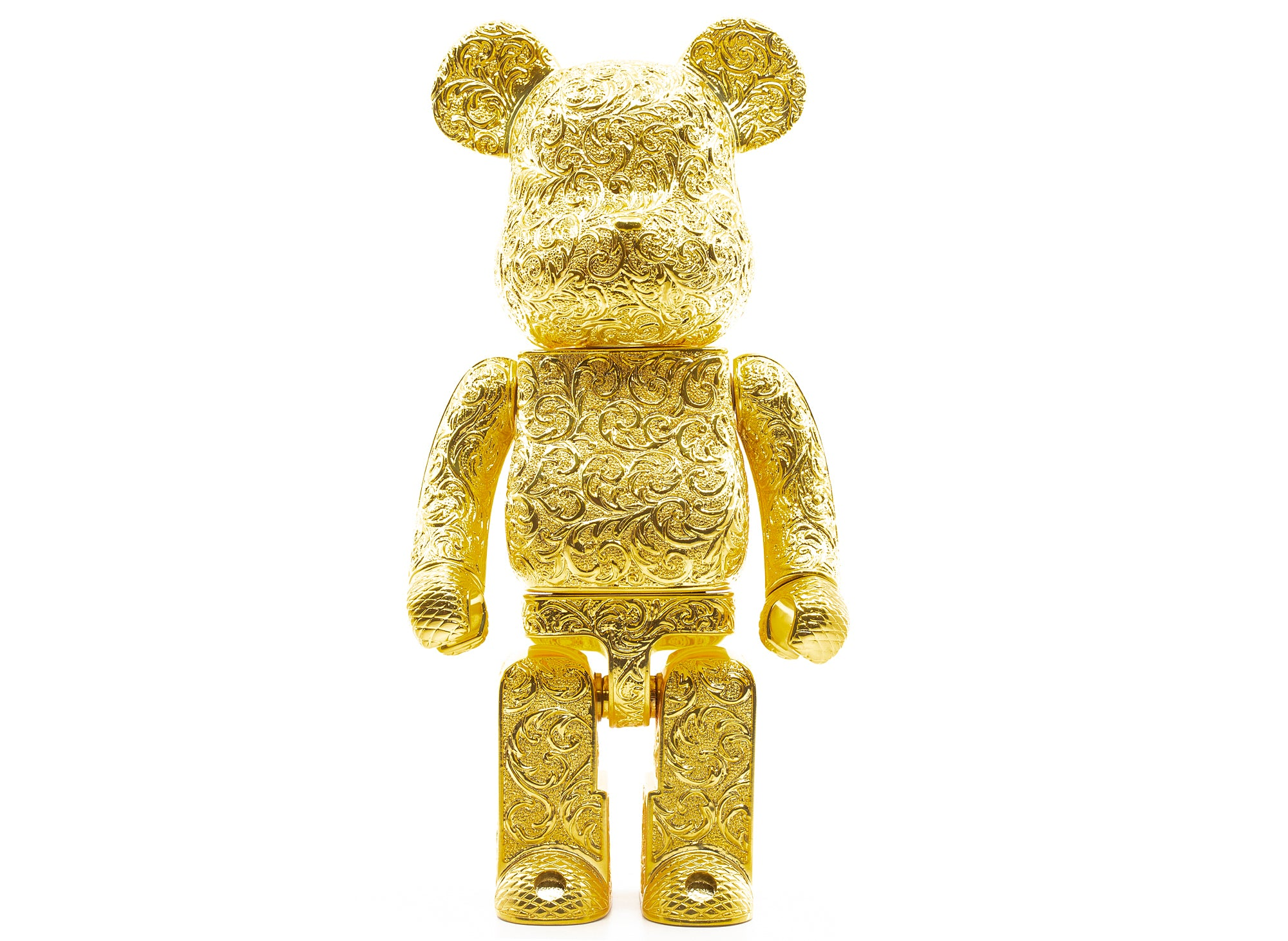 Medicom Special Edition Arabesque Golden 400% BE@RBRICK ROYAL SELANGOR xld