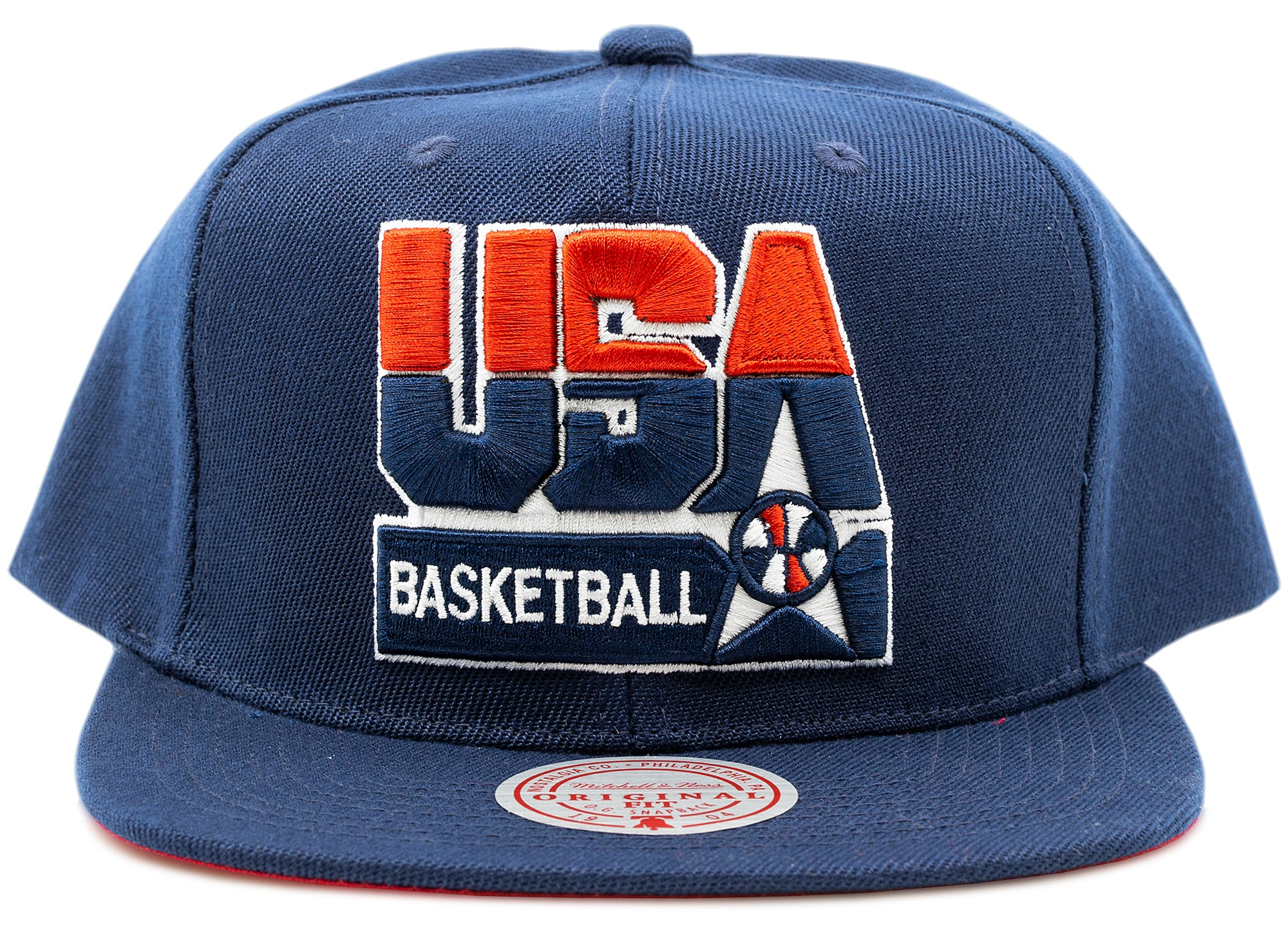Mitchell & Ness USA Basketball Snapback Team USA