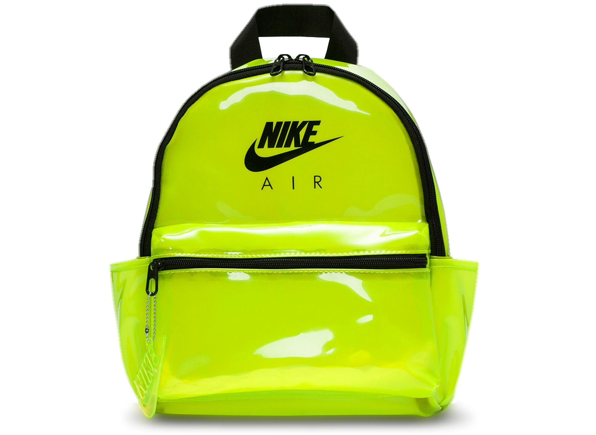 Nike Just Do It Mini Backpack in Volt