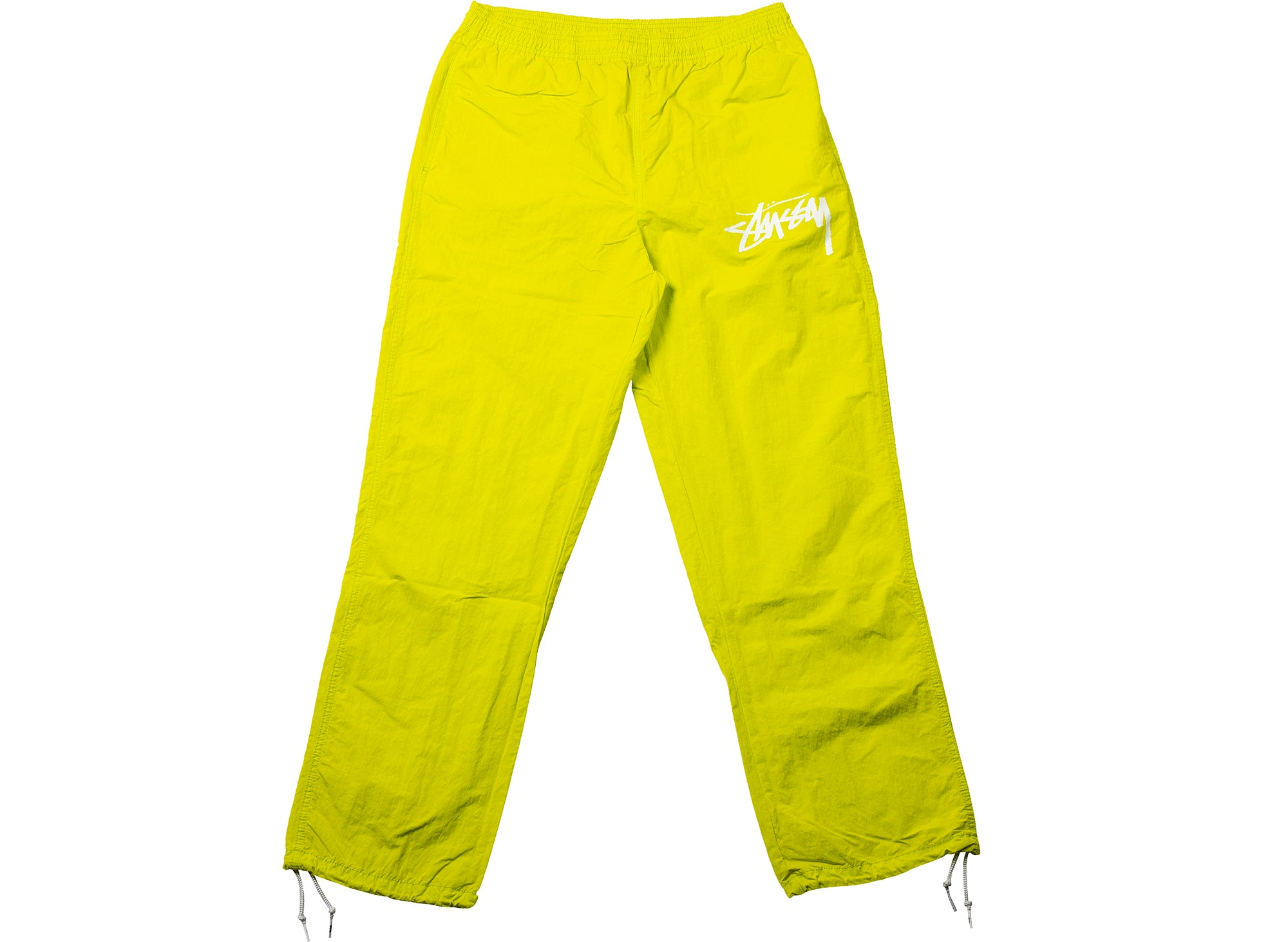 Nike x Stüssy Beach Pants in Lime xld