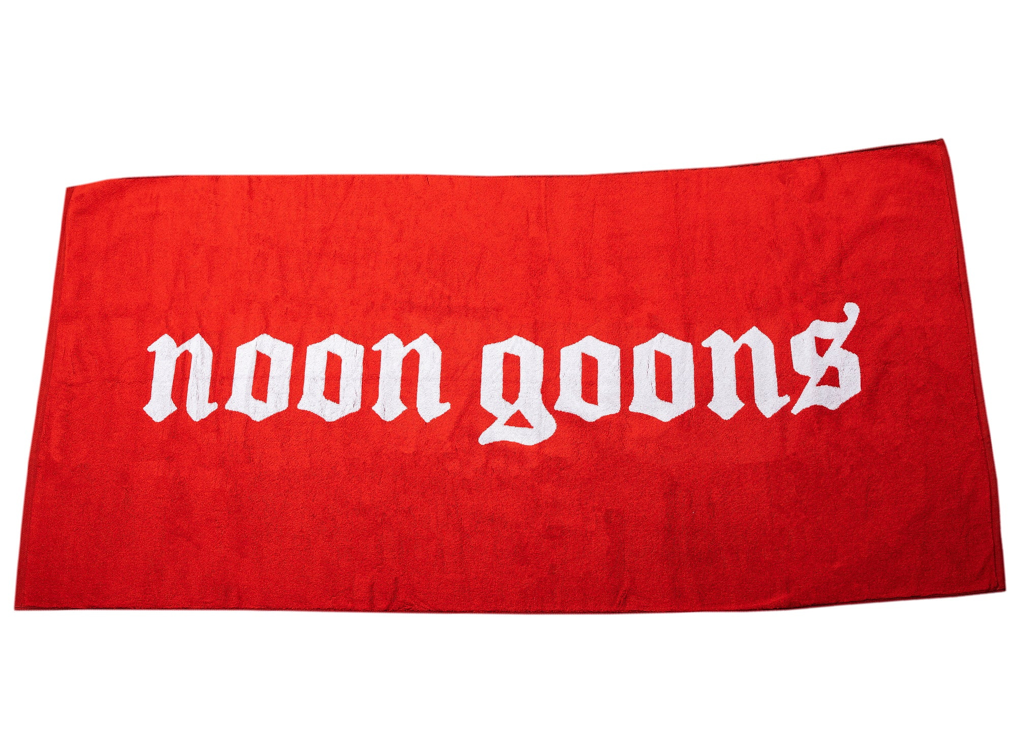 Noon Goons OE Beach Towel in Red