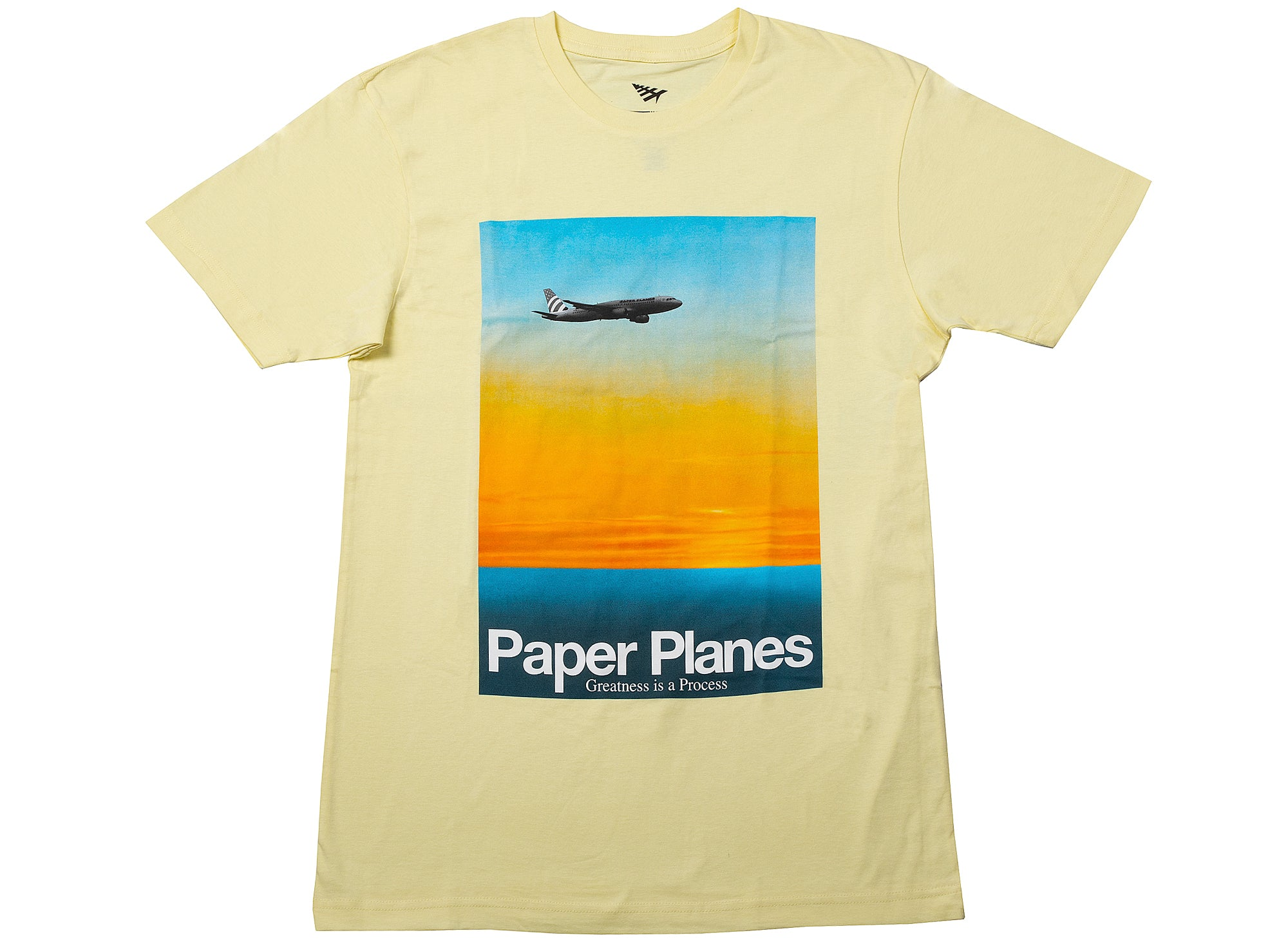 Paper Planes No Mosquitos Tee in Lemon xld