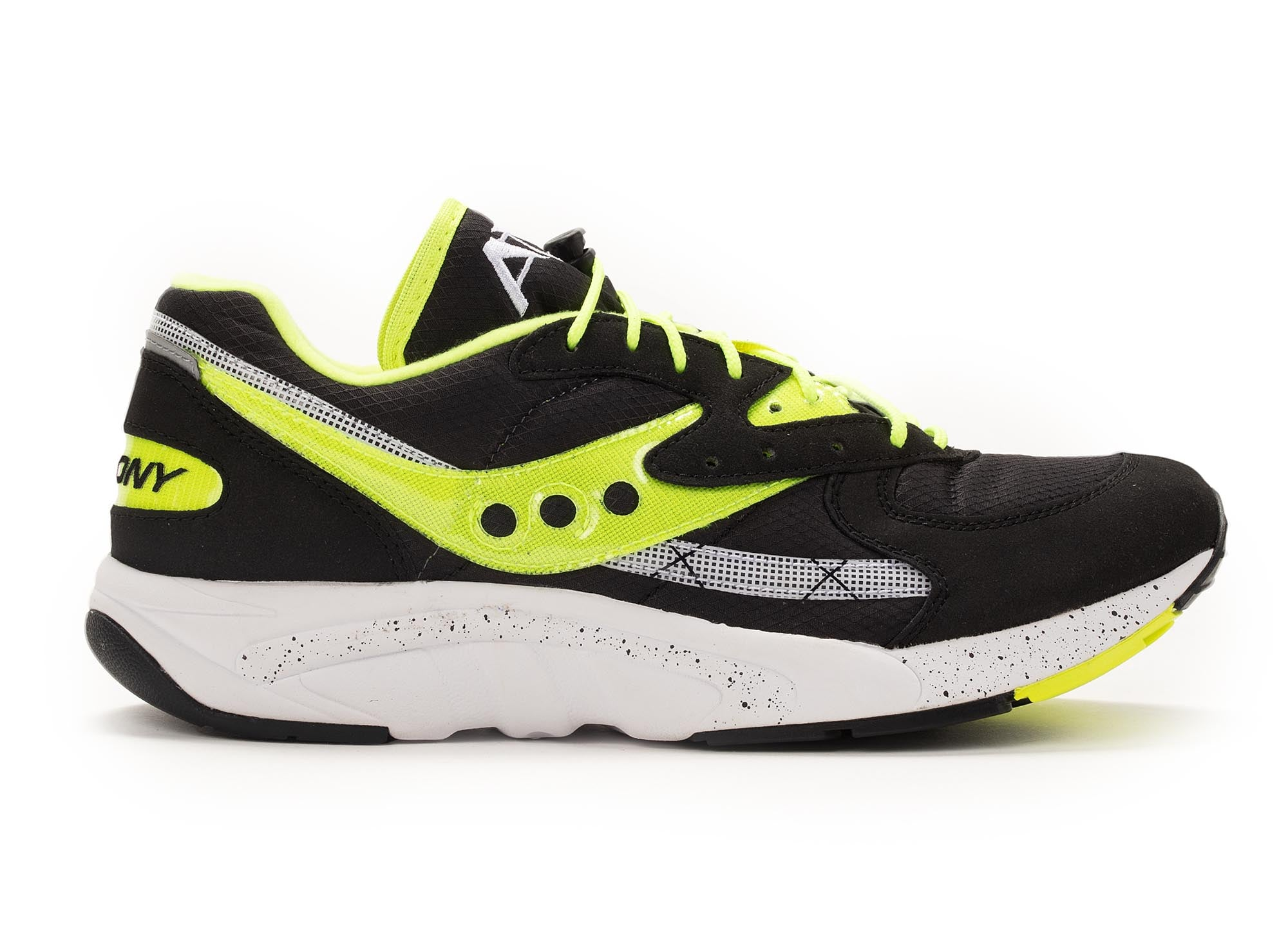 Saucony Originals Aya 'Black/Lime Green'