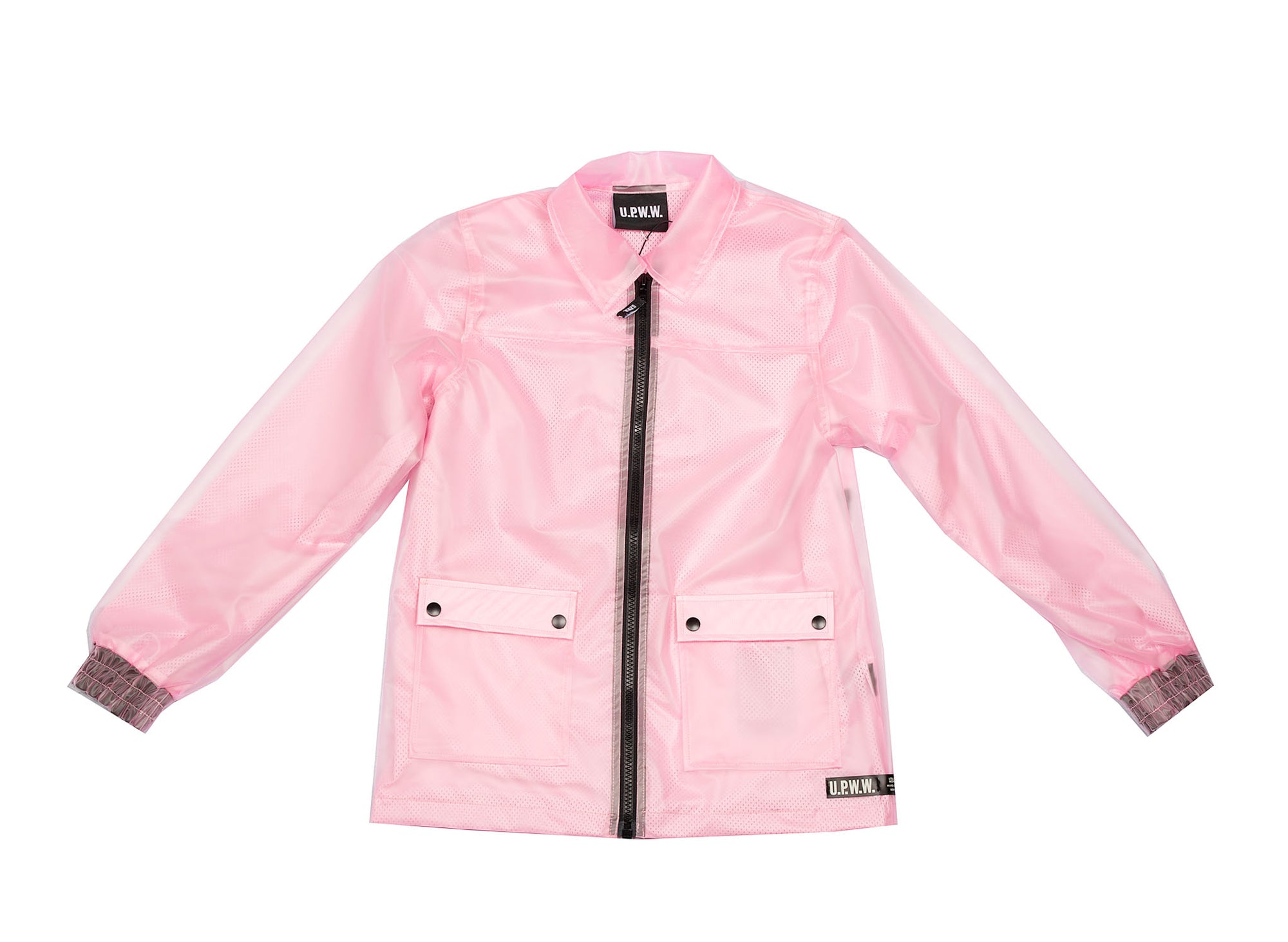 U.P.W.W. Transparent coaches jacket