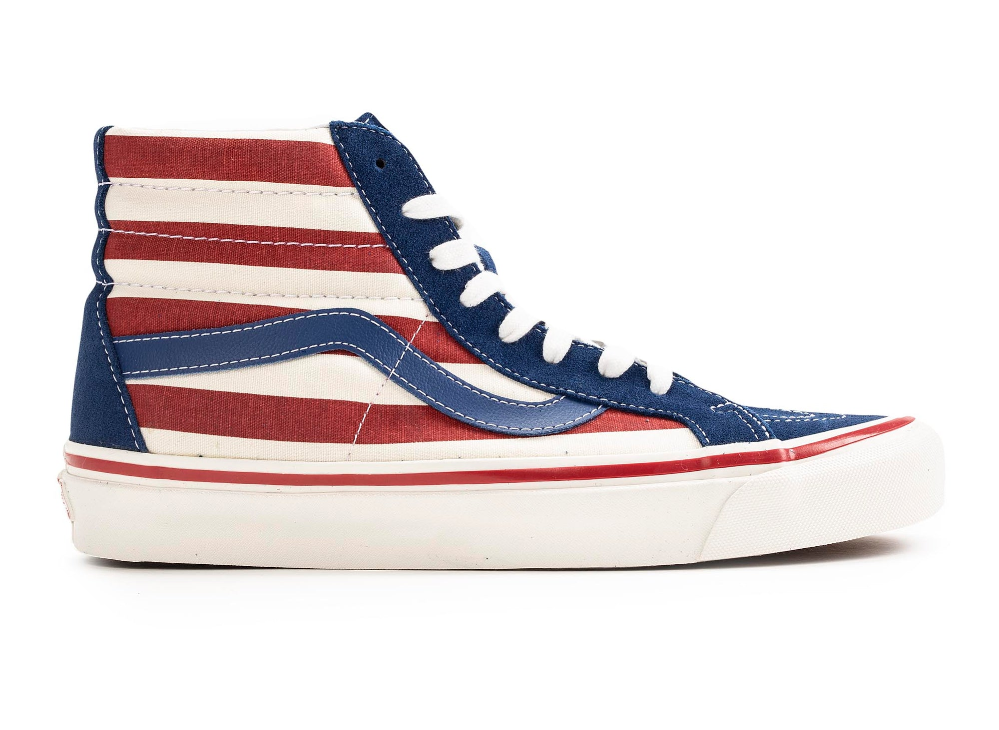 VANS UA Anaheim Factory SK8 HI 38 DX 'Fourth of July Pack'