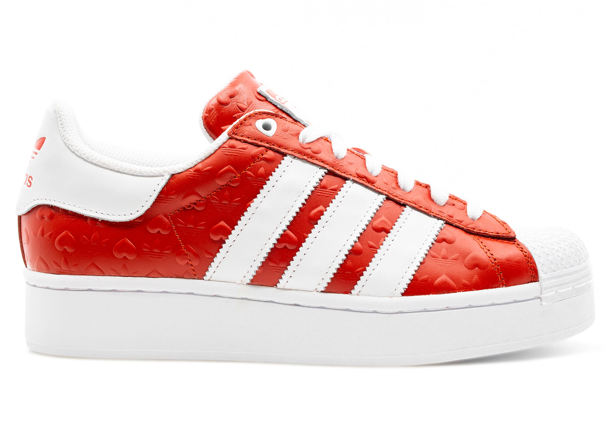 Women's adidas Superstar Bold 'Heart Embossed' xld