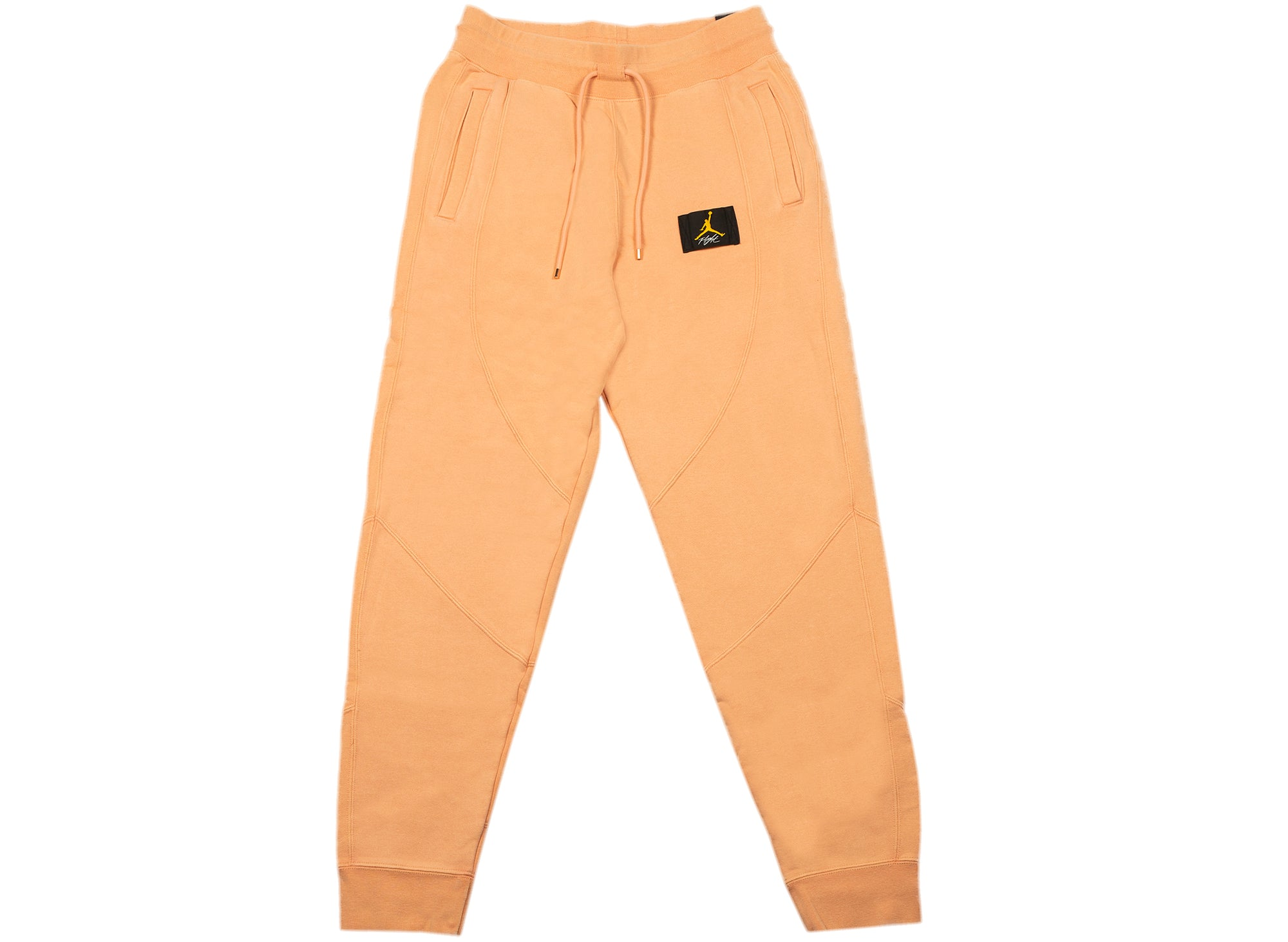 Women's Jordan Flight Fleece Trousers in Apricot xld