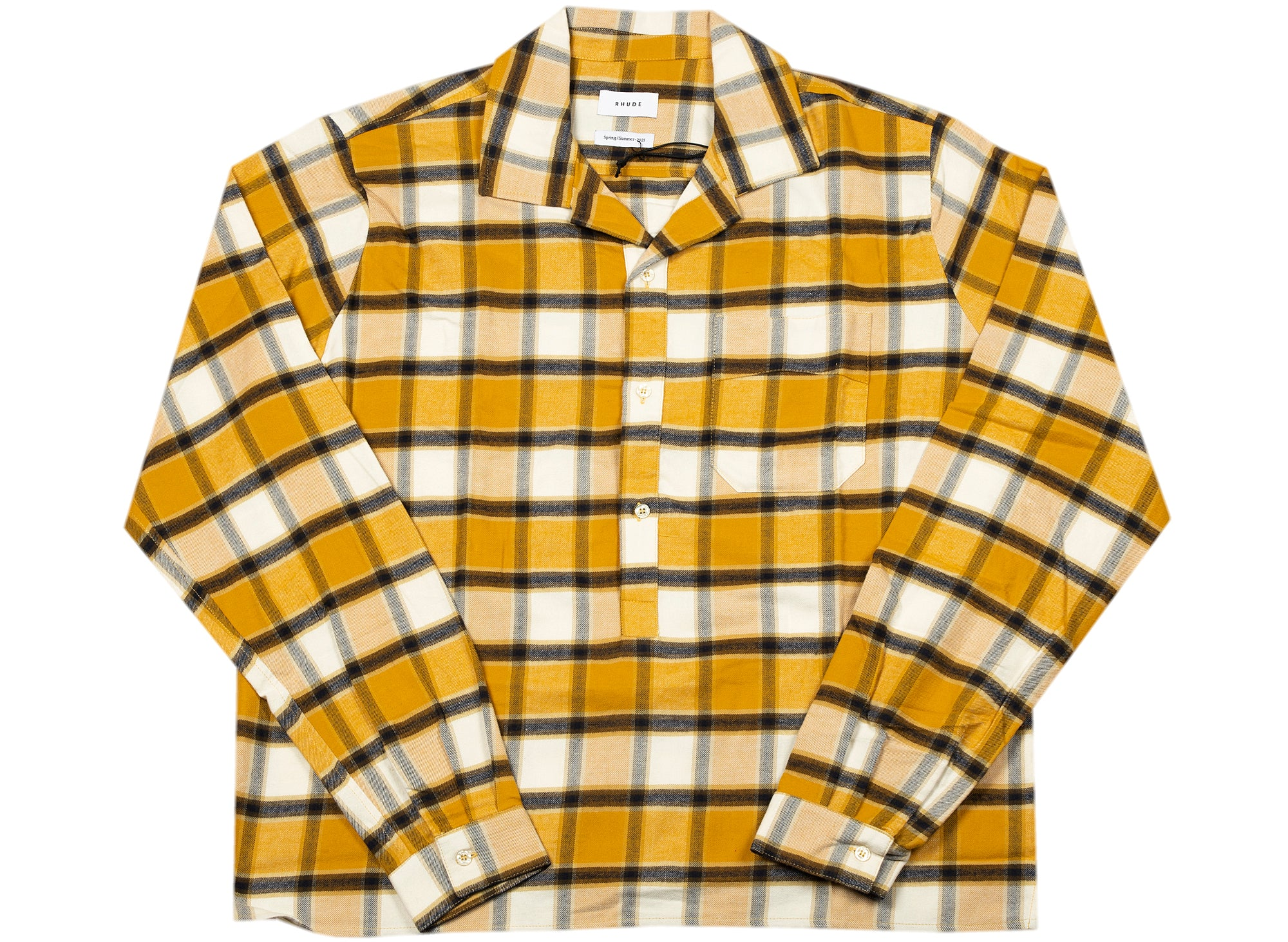 Rhude Camp Button-Up Shirt xld