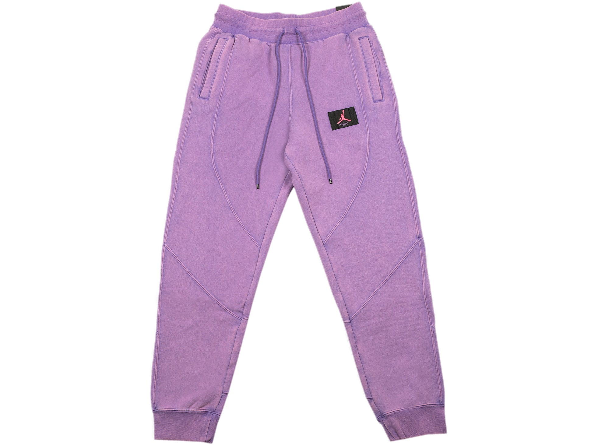 Women's Jordan Flight Fleece Trousers in Violet xld