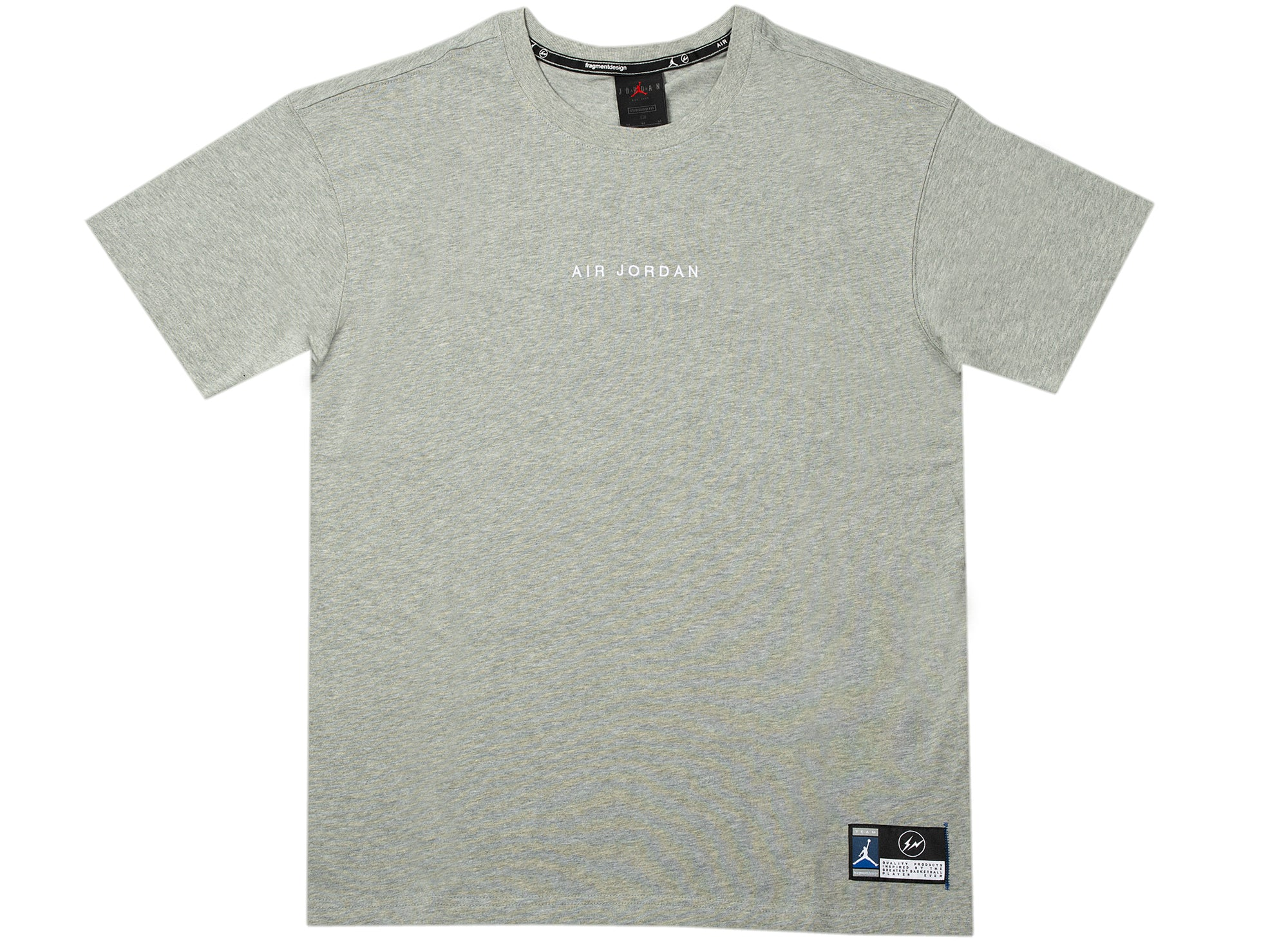 Jordan x Fragment Lifestyle Top in Grey xld