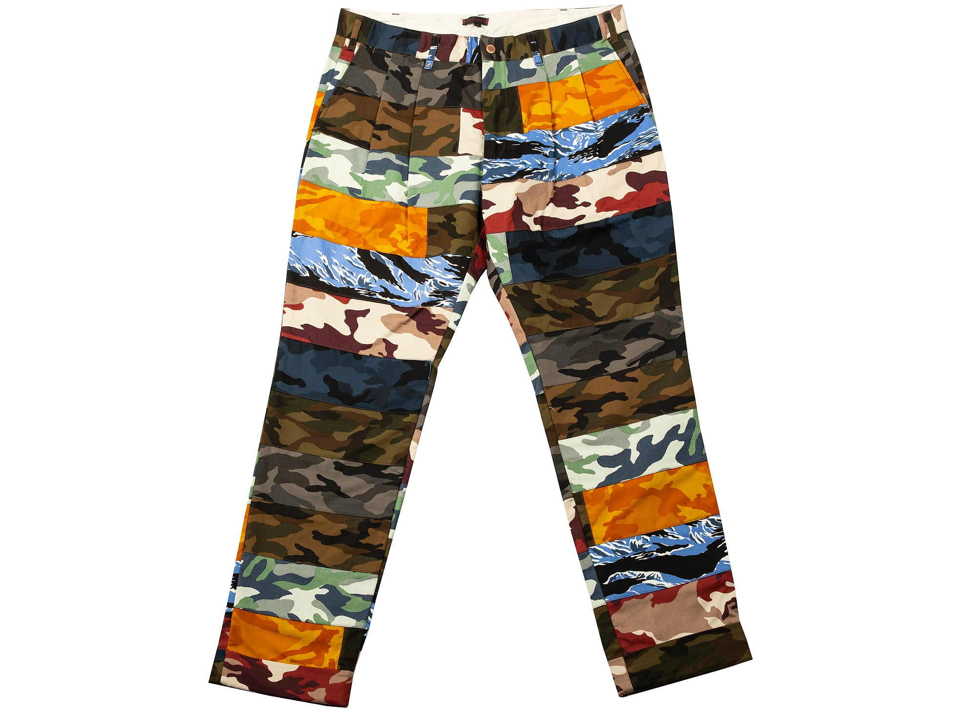 Clot Multicolor Camo Pants