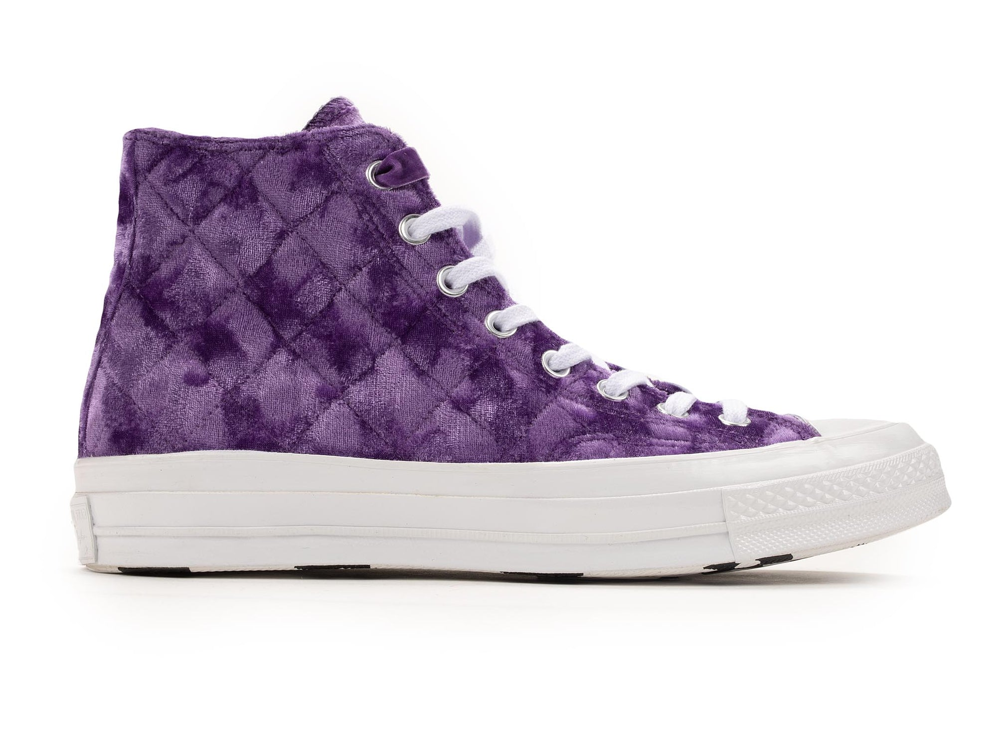 Converse Chuck Taylor All-Star 70s Hi Golf Le Fleur TTC Quilted Velvet 'Tillandsia Purple'