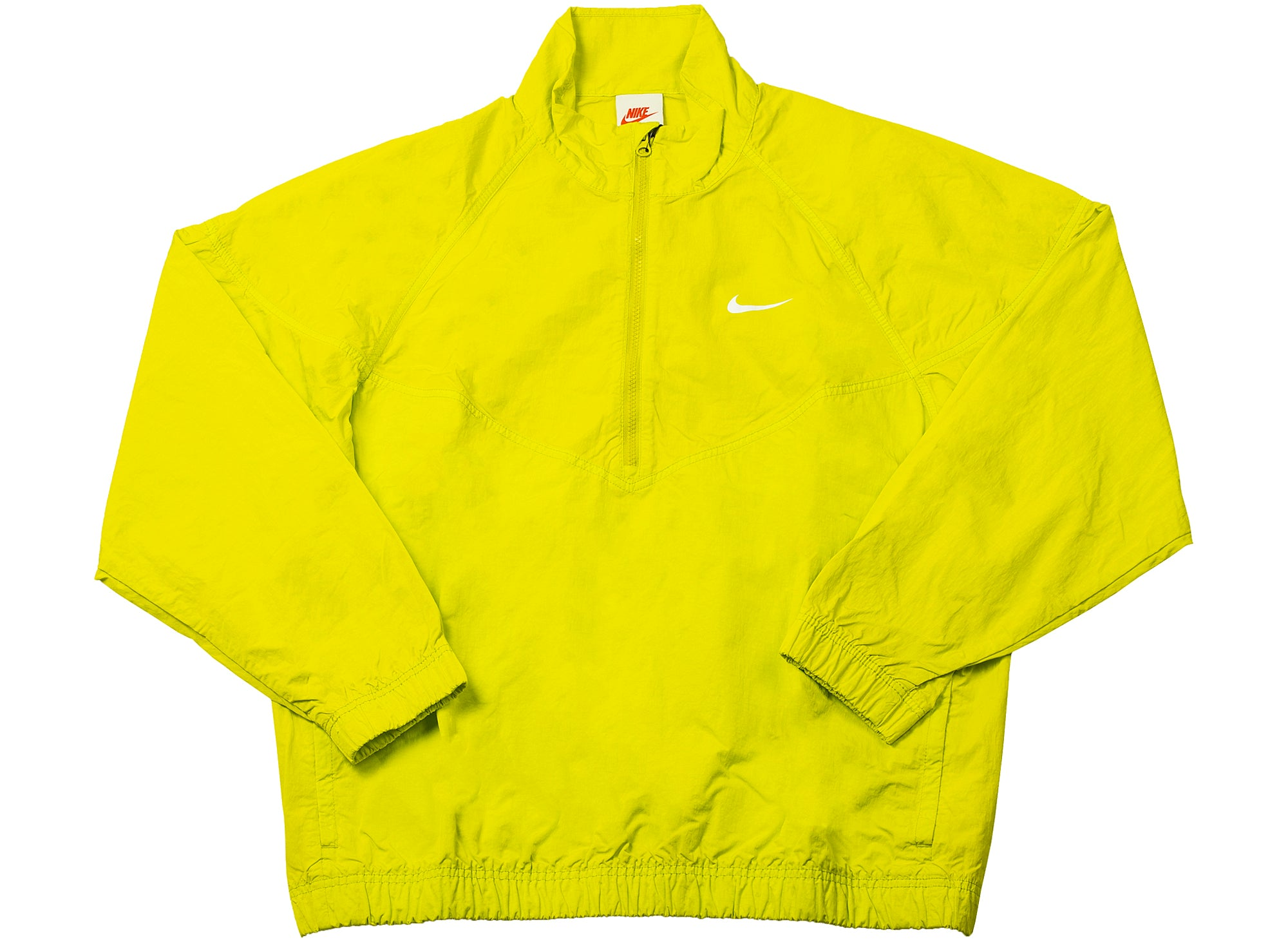 Nike x Stüssy Windrunner Jacket in Lime xld