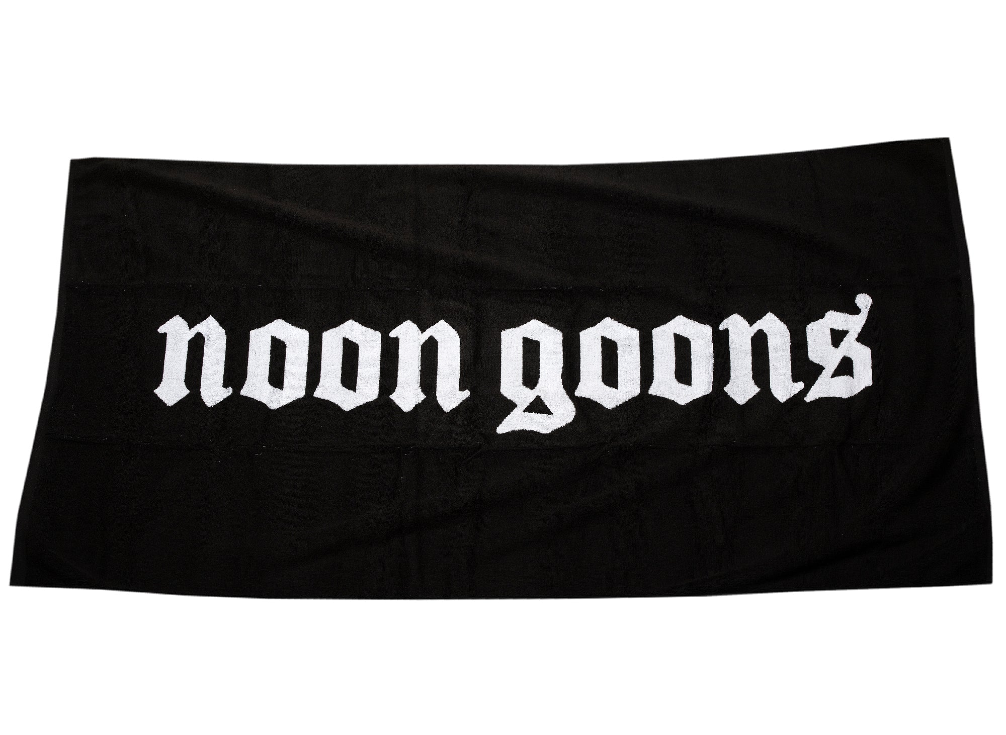 Noon Goons OE Beach Towel in Black