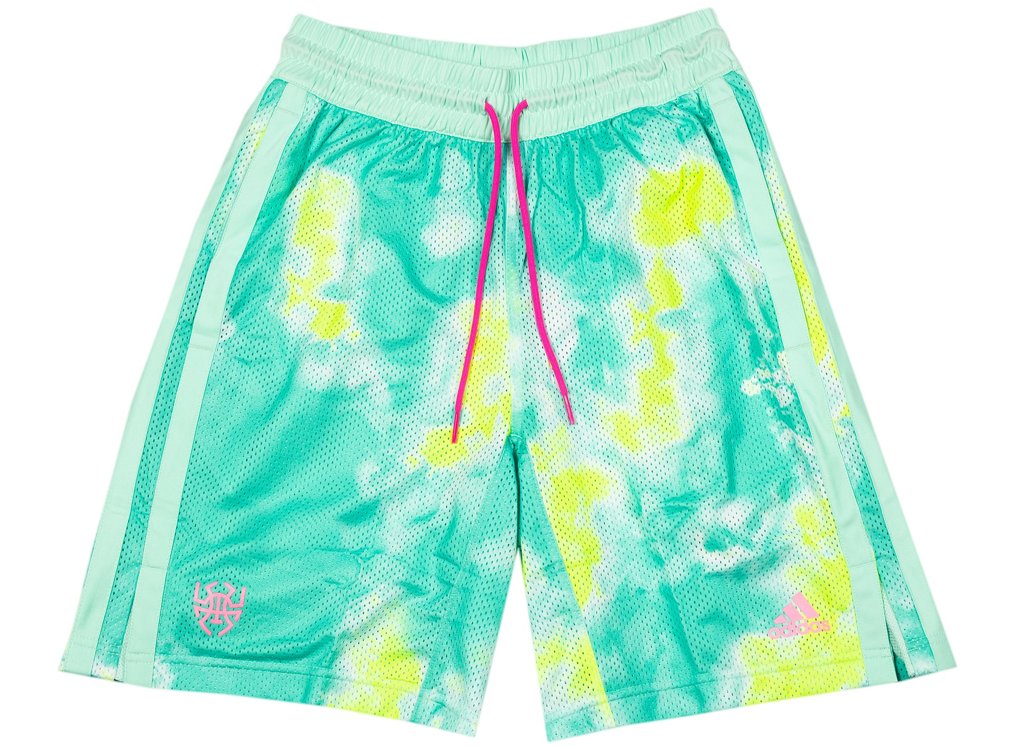 Adidas Donavan Mitchell Shorts in Mint xld