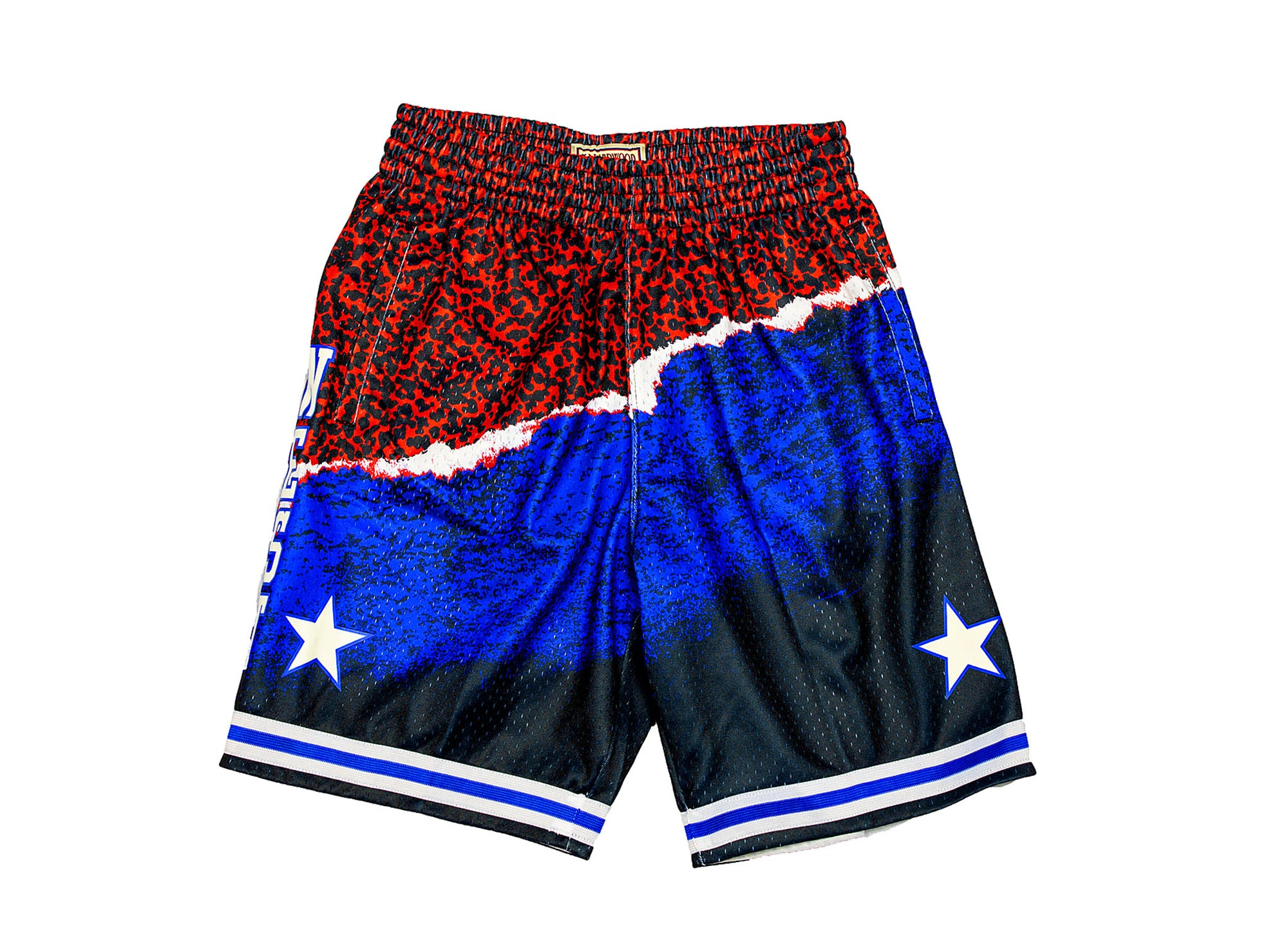 MITCHELL & NESS NBA SUBLIMATED SHORTS ALL STAR WEST 03