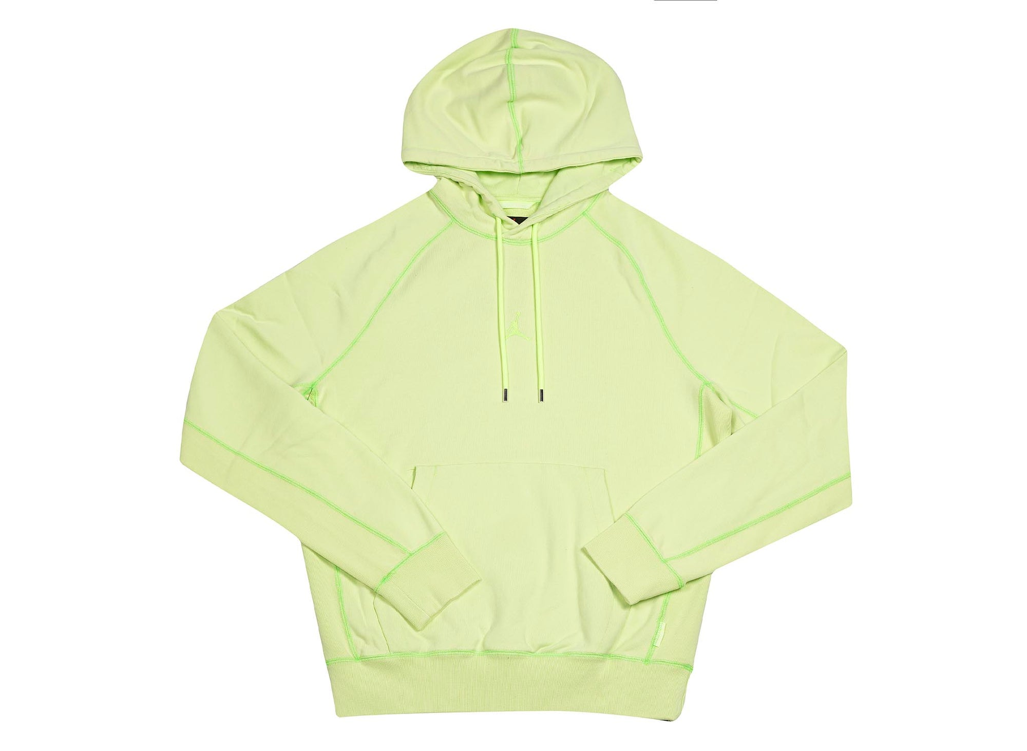 M J WINGS WASH FLC PULLOOVER GHOST GREEN