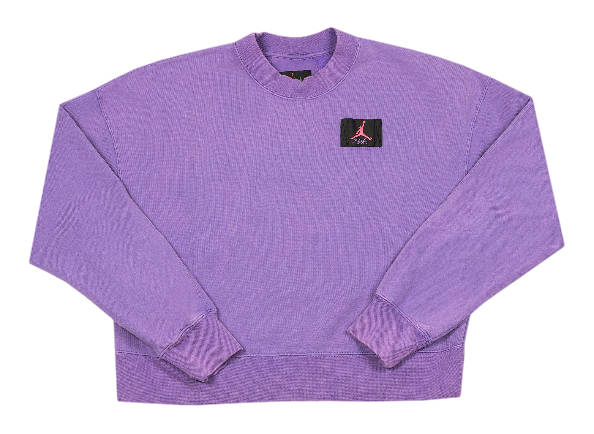 Women's Jordan Flight Fleece Crewneck in Violet xld