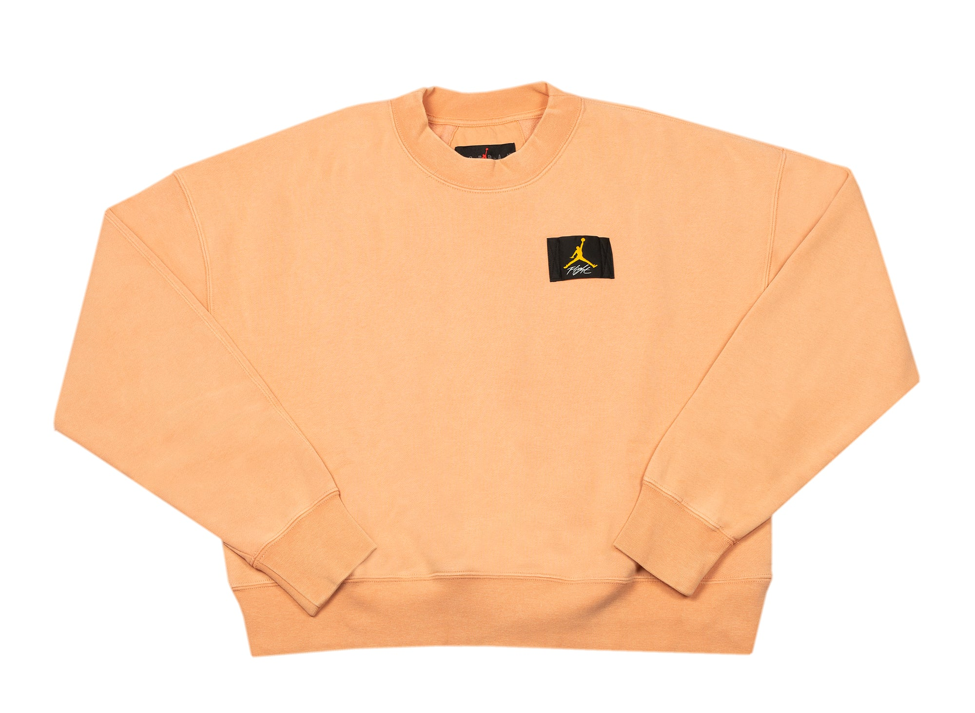 Women's Jordan Flight Fleece Crewneck in Apricot xld