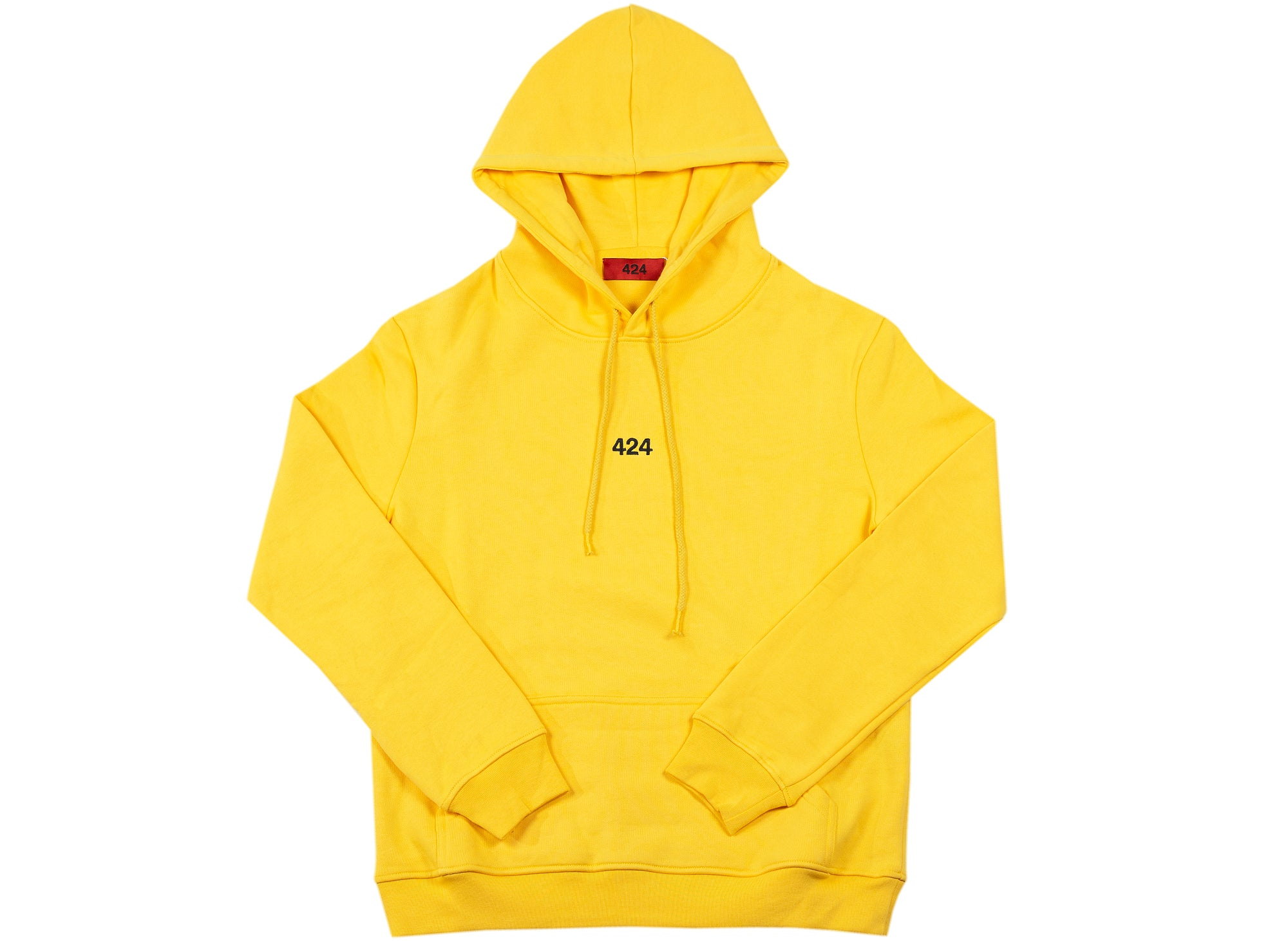 424 Pullover Hoodie in Yellow