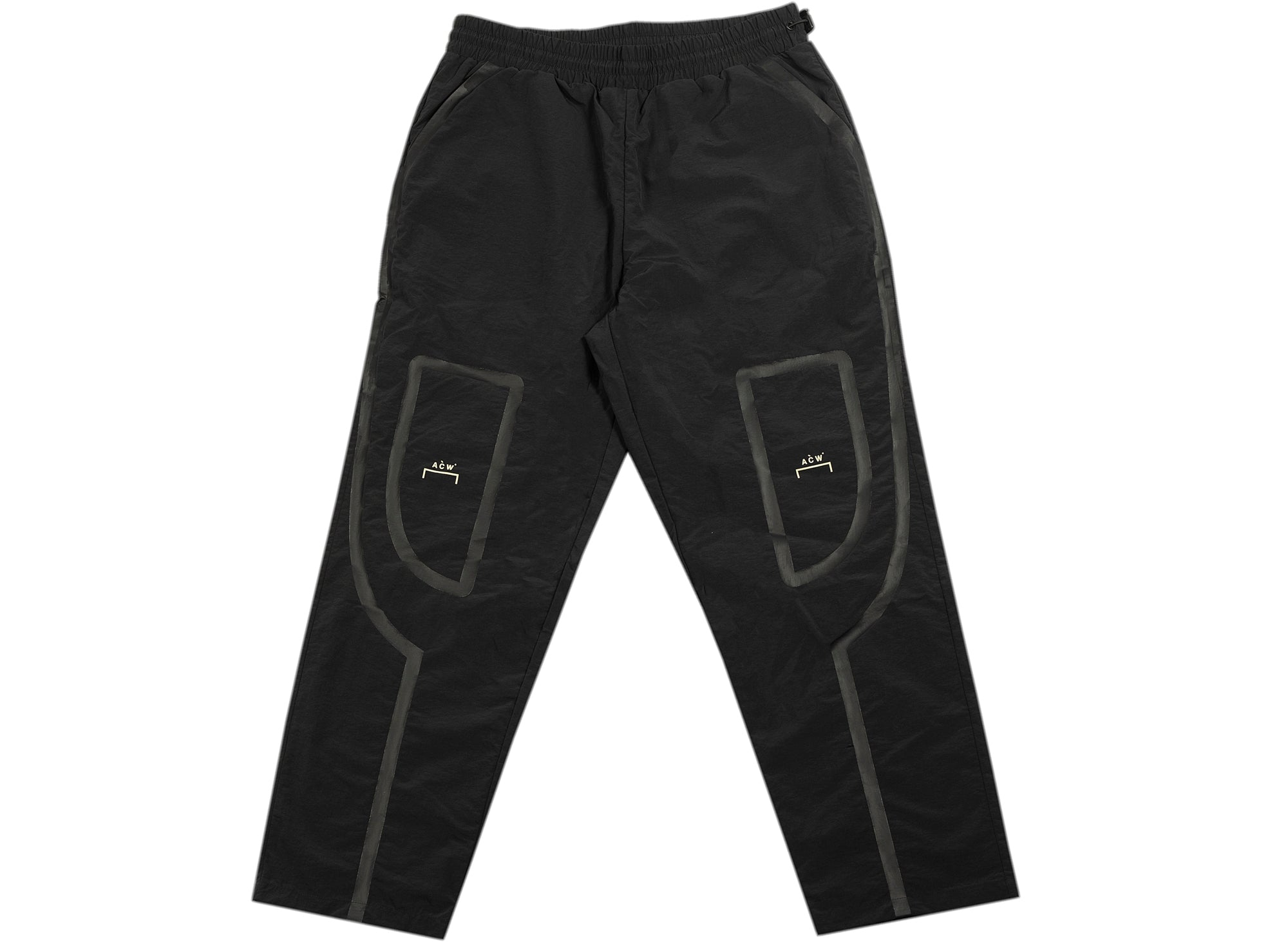 A-COLD-WALL* Woven Taped Track Pants in Black