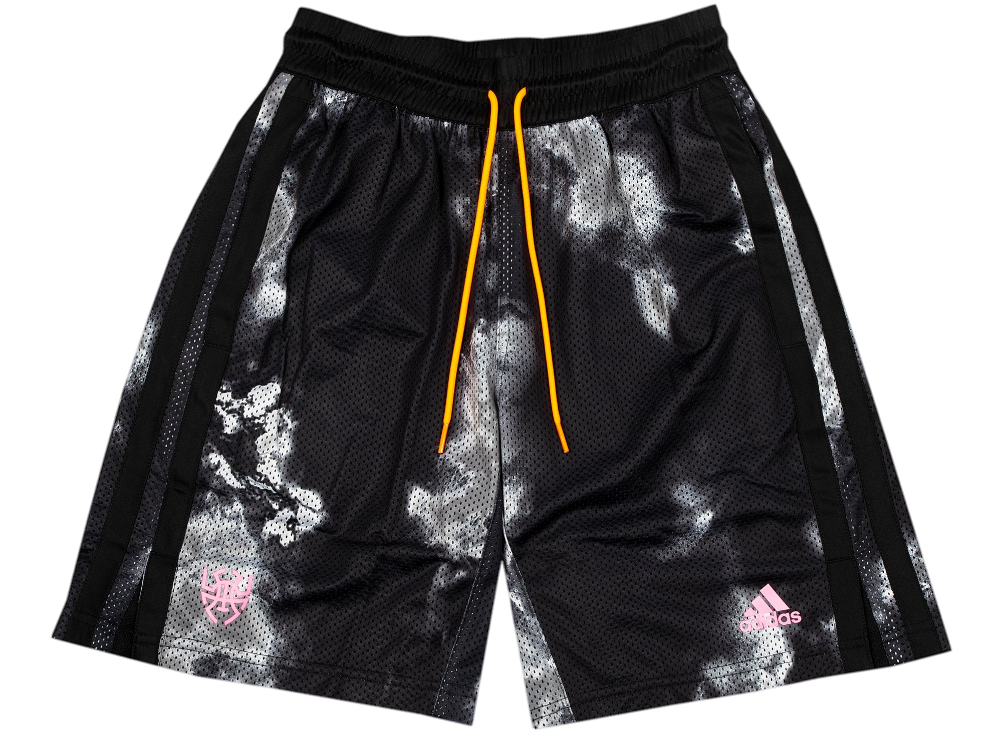Adidas Donovan Mitchell Shorts in Black xld