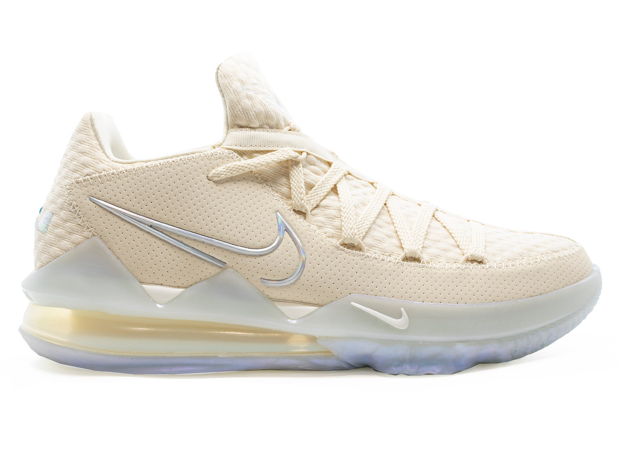 Nike LeBron 17 Low 'Light Cream'