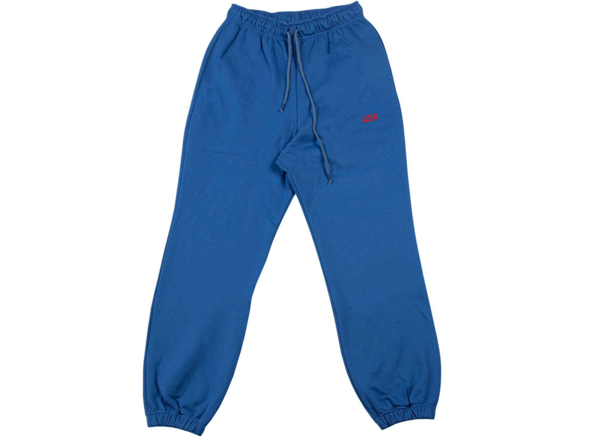 424 Logo Sweatpants in Blue
