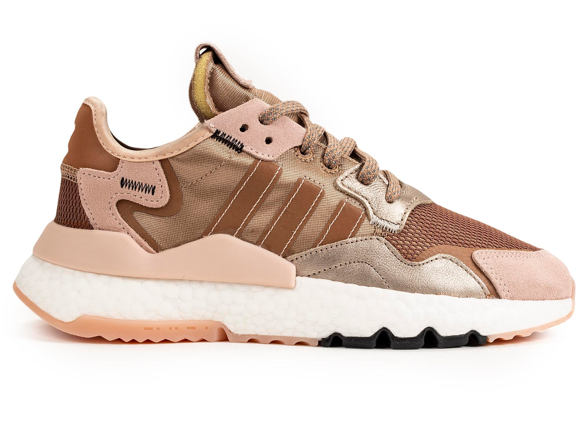adidas Women's Nite Jogger 'Rose Gold Metallic'