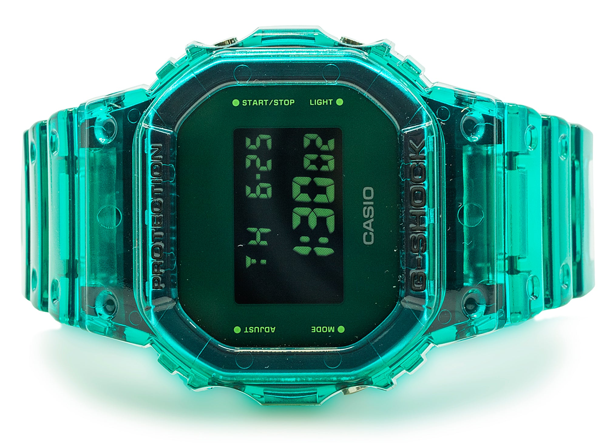 Casio G-Shock DW5600SB-3 in Green xld