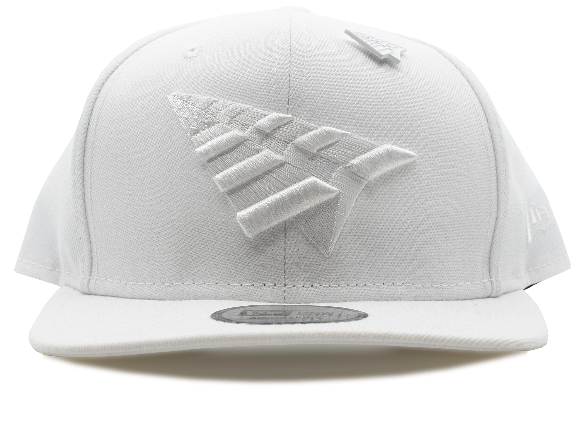 Paper Planes Crown Old School Snapback in White