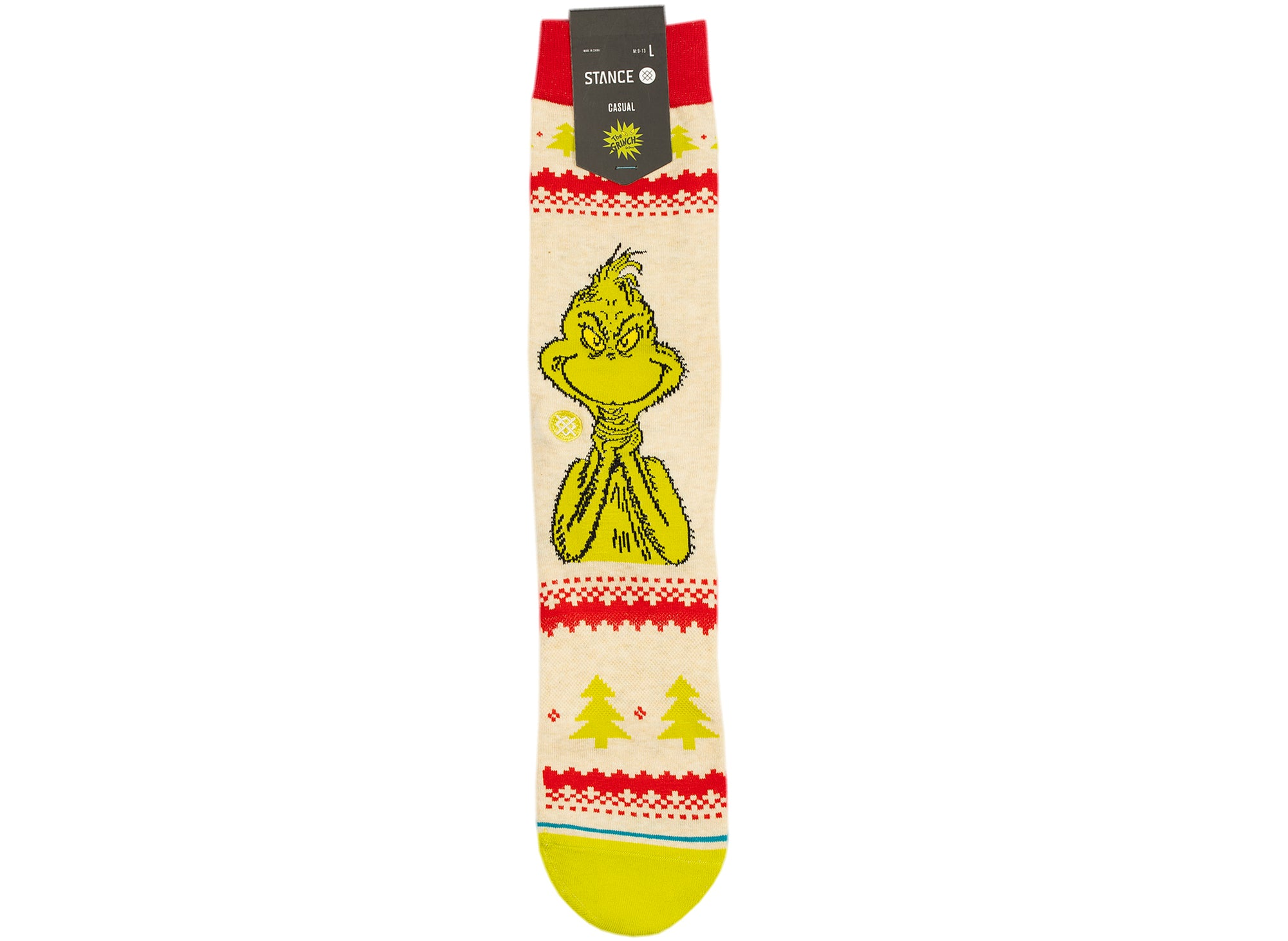 Stance Grinch Sweater Socks xld