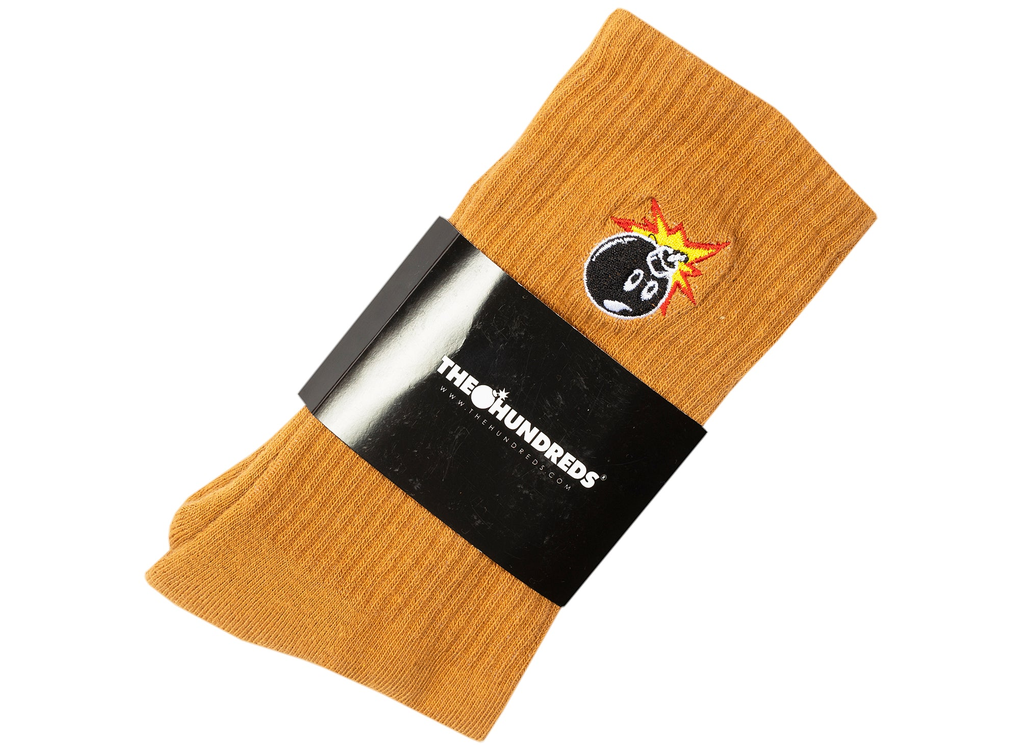 The Hundreds Adam Bomb 20W Socks in Khaki