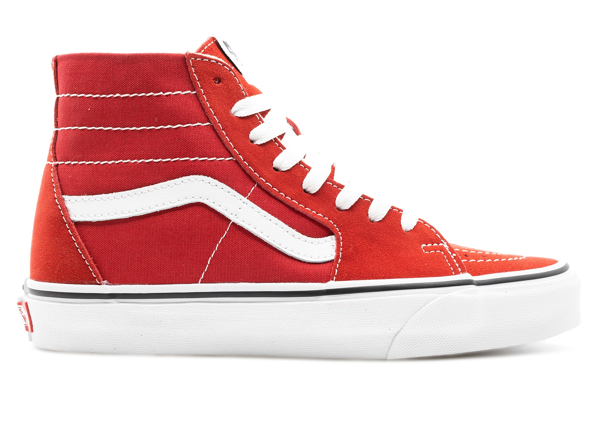 Women's Vans Sk8-Hi Tapered 'Racing Red' xld
