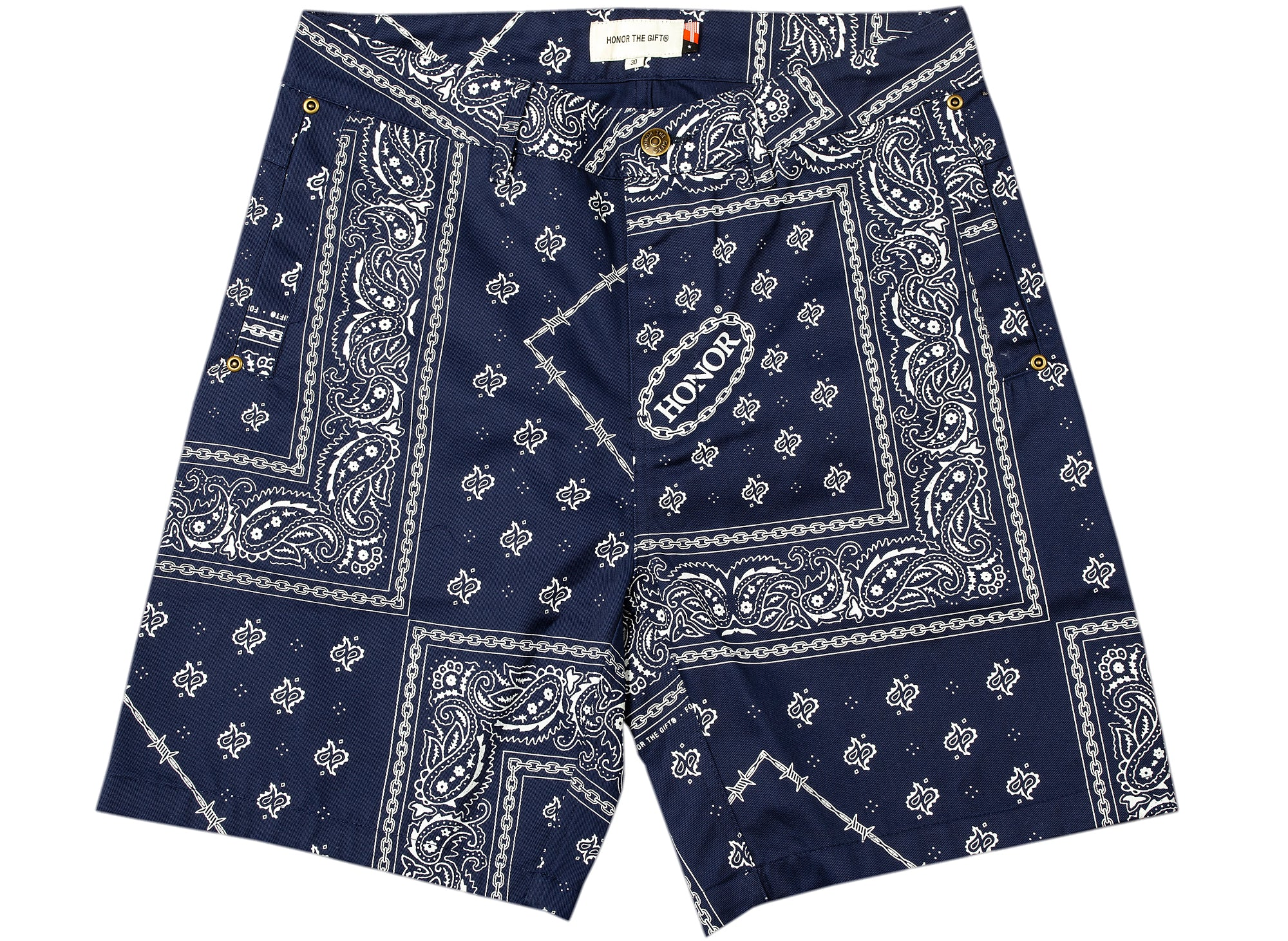 Honor the Gift Bandana Shorts xld