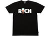 Ice Cream Rich S/S Tee in Black xld